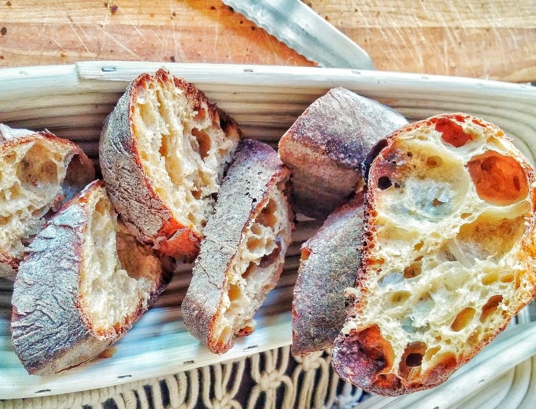 Mesquite flour baguette