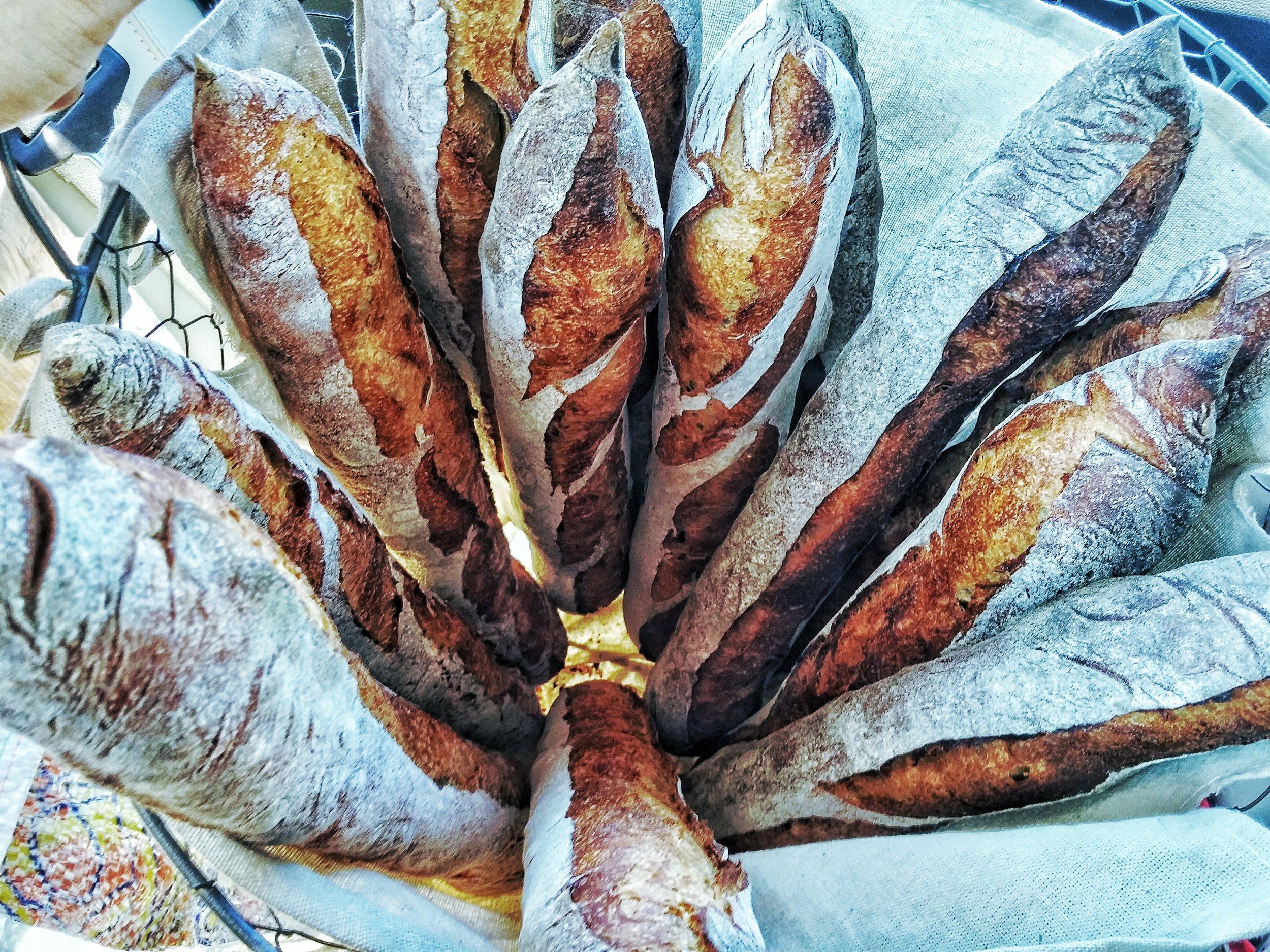 Mesquite baguettes