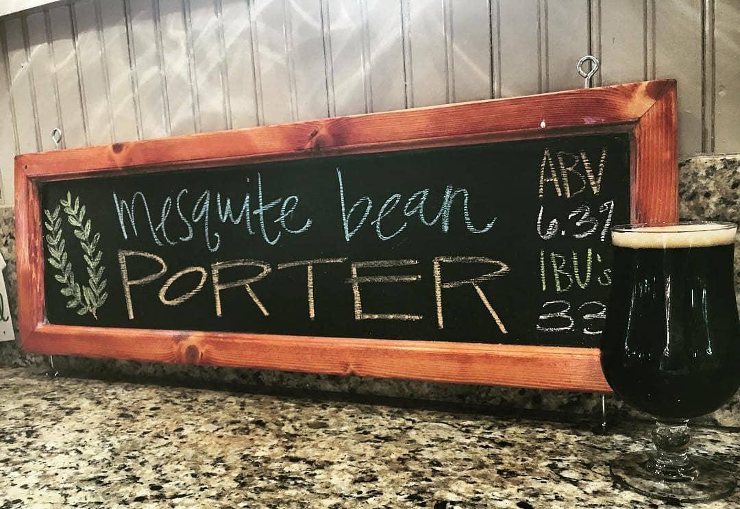 Cibolo Creek Brewery Mesquite Porter