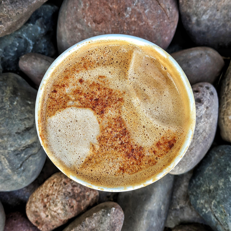 Mesquite latte