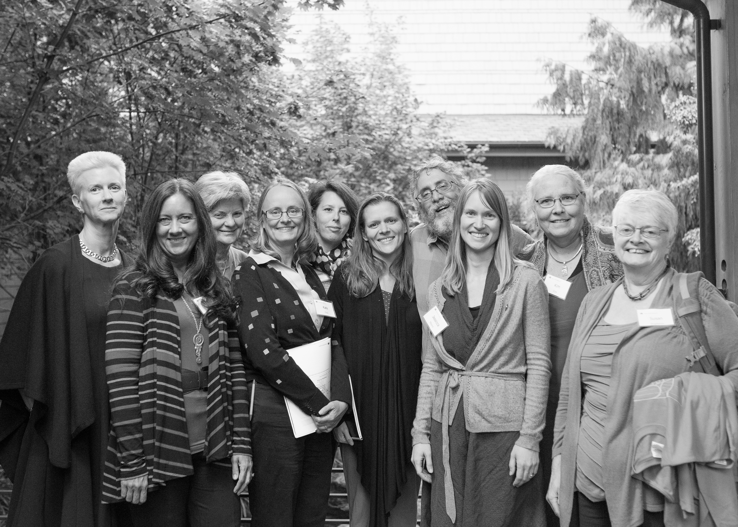 A group of hospital birth providers who had their own children at home. I met them at the Home Birth Consensus Summit.