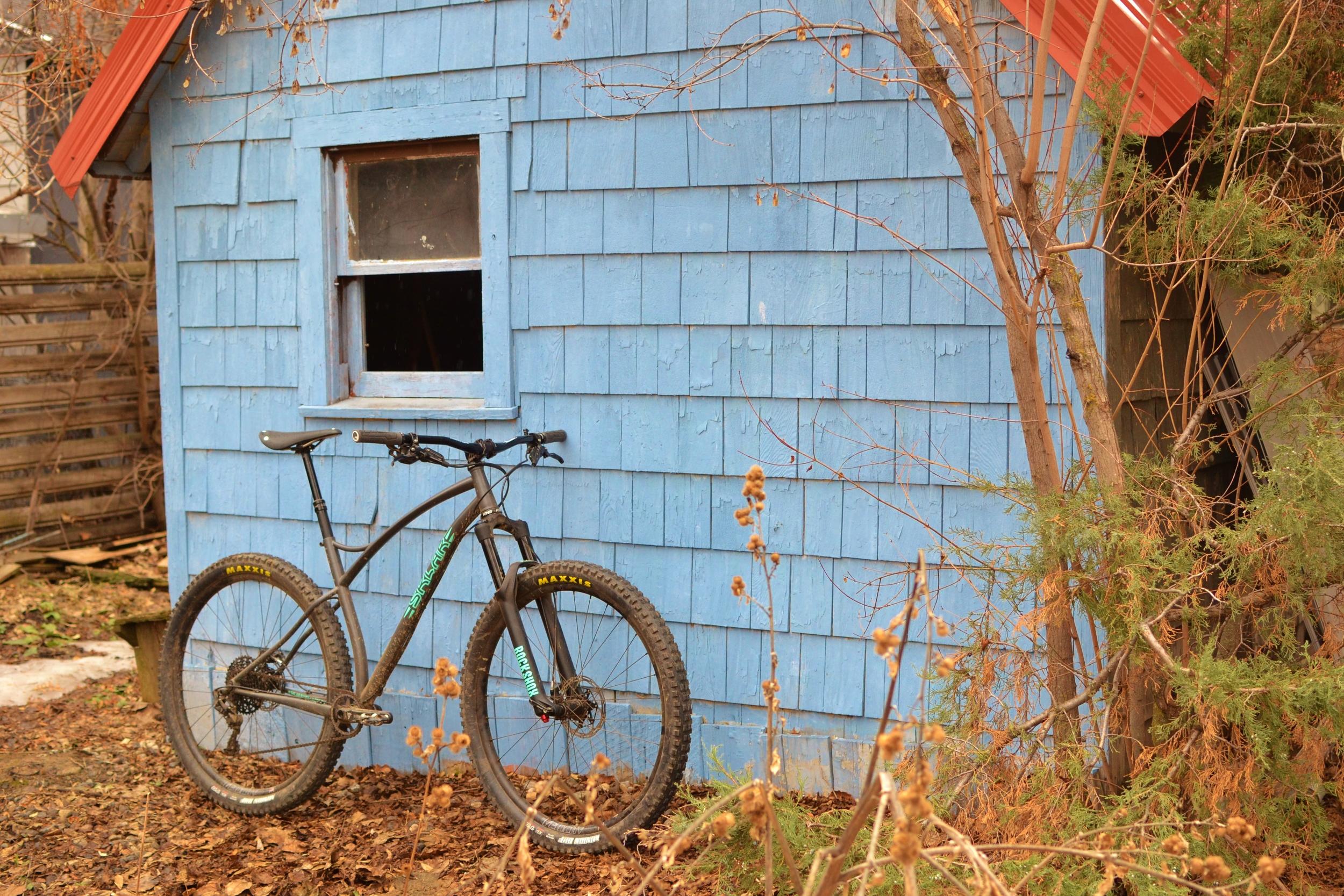 Sklar 29er mountain bike