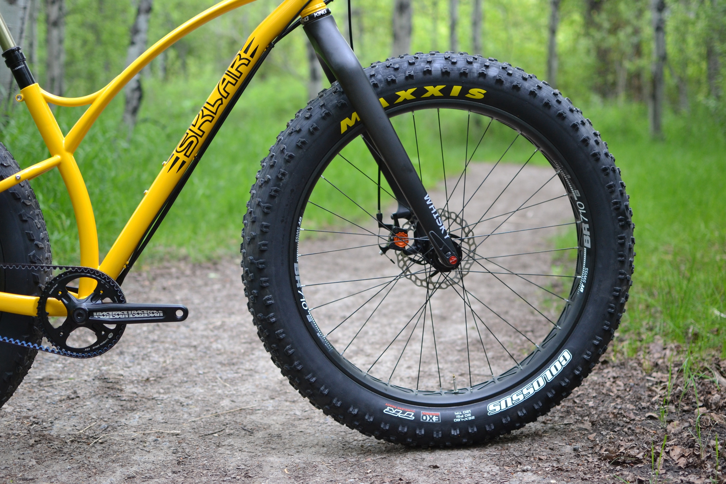 Sklar custom steel fat bike