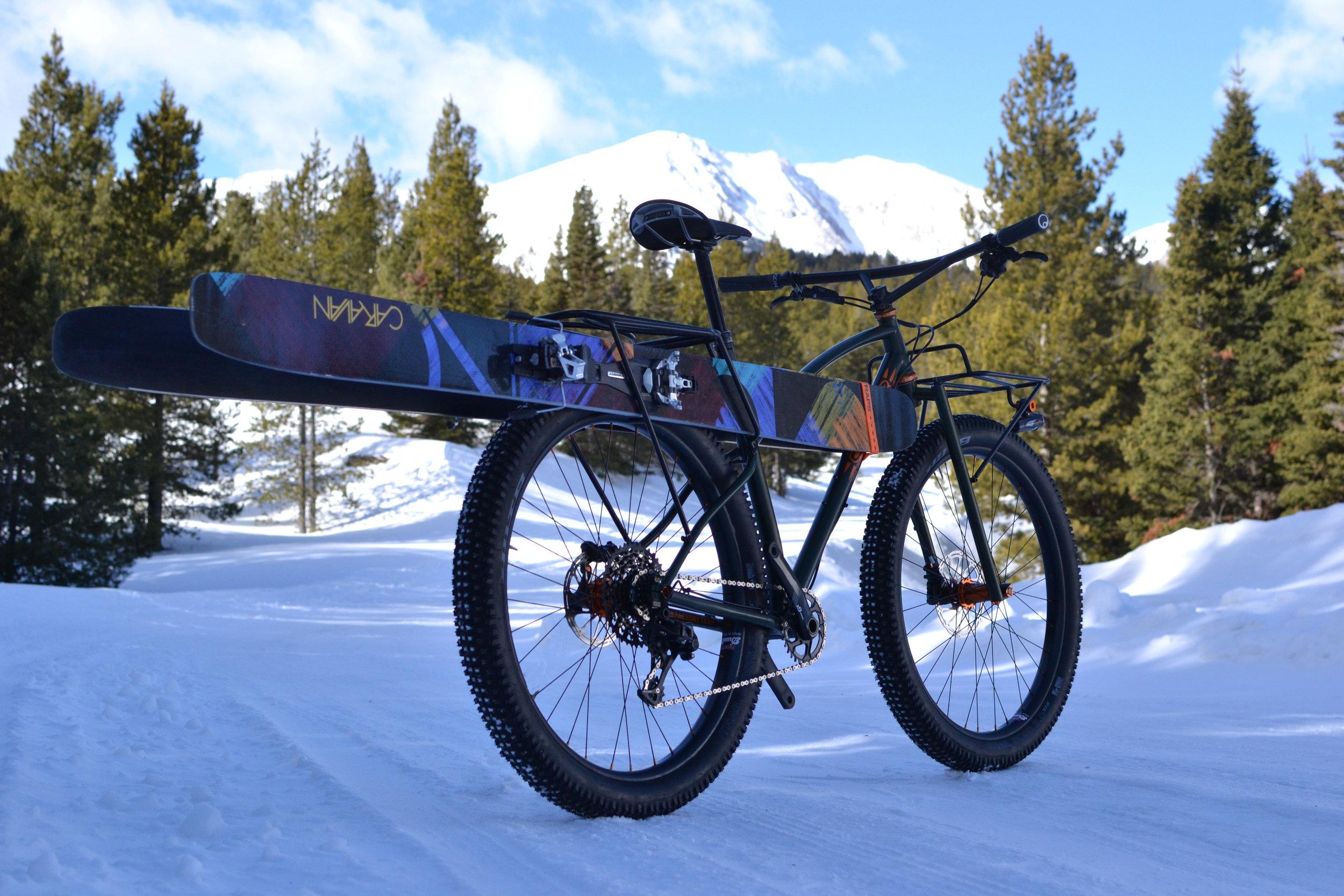 275 plus bike packing bike