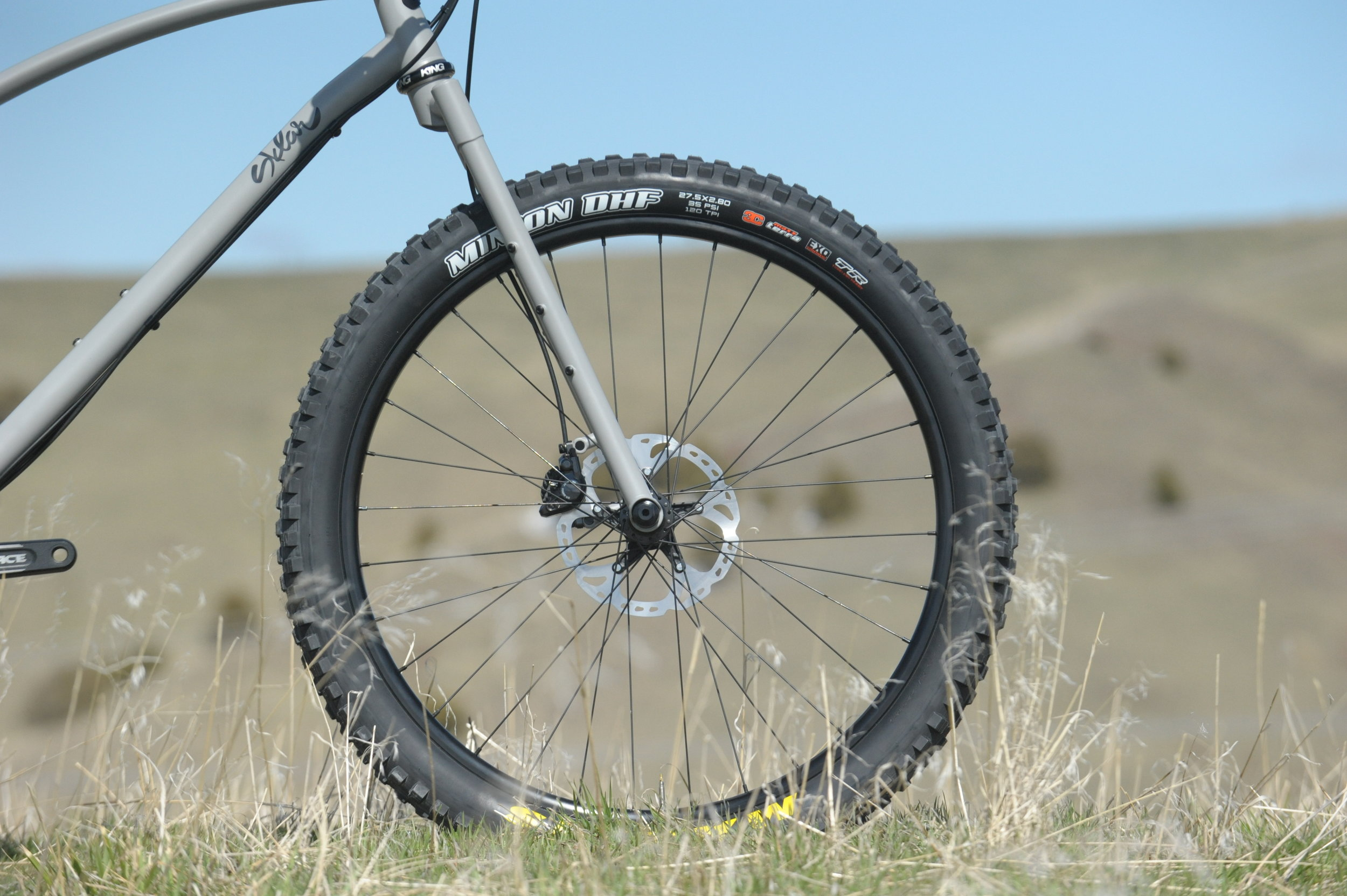 275 plus hardtail bikepacking
