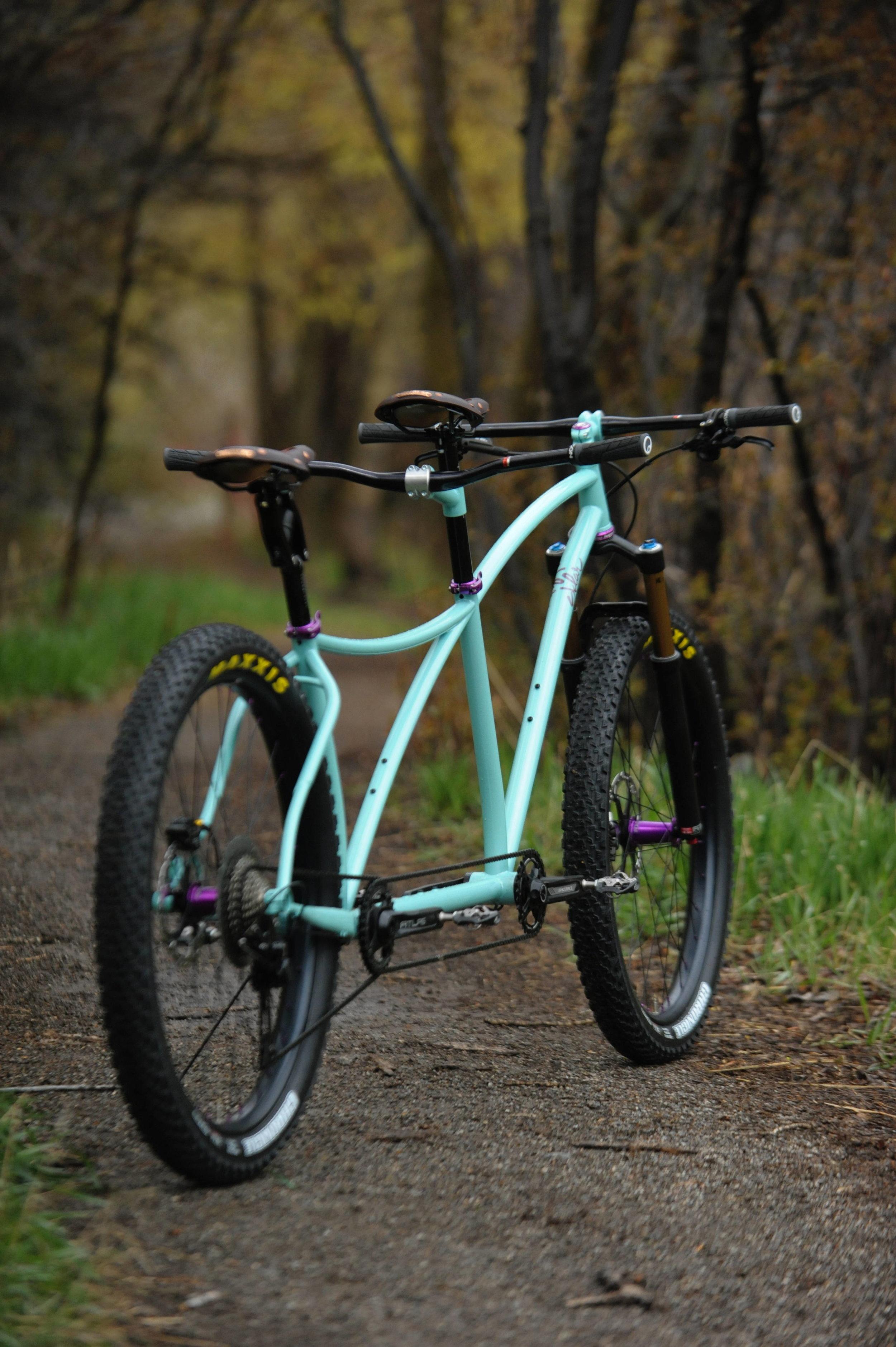 plus tandem mountain bike sklar