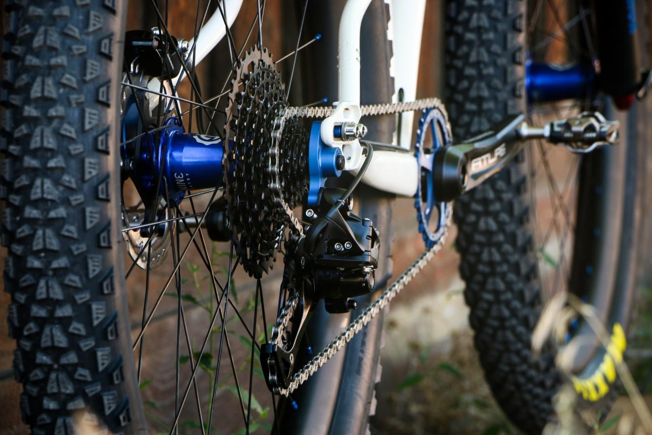 Sklar handmade mountain bike
