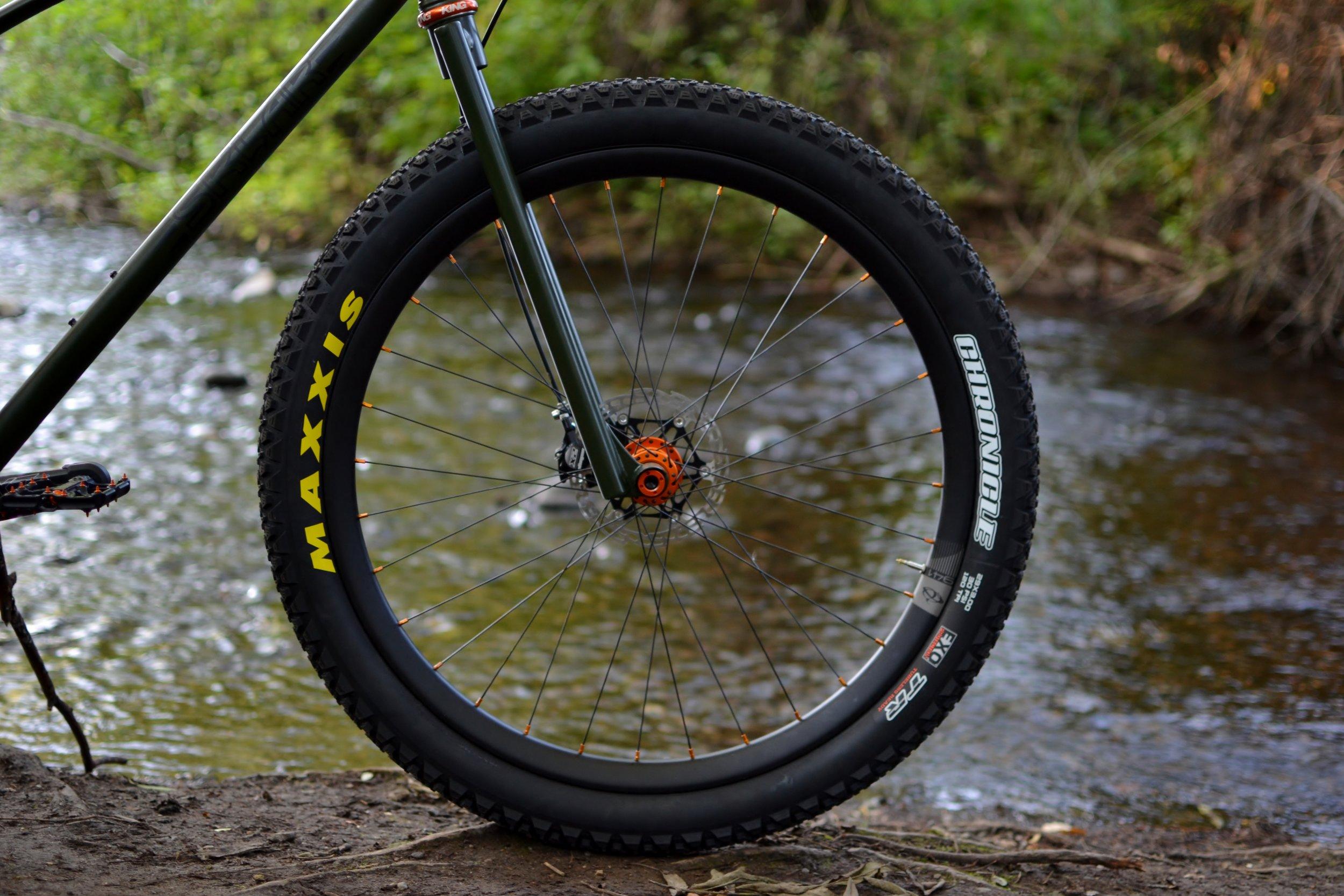 Sklar custom mountain bike