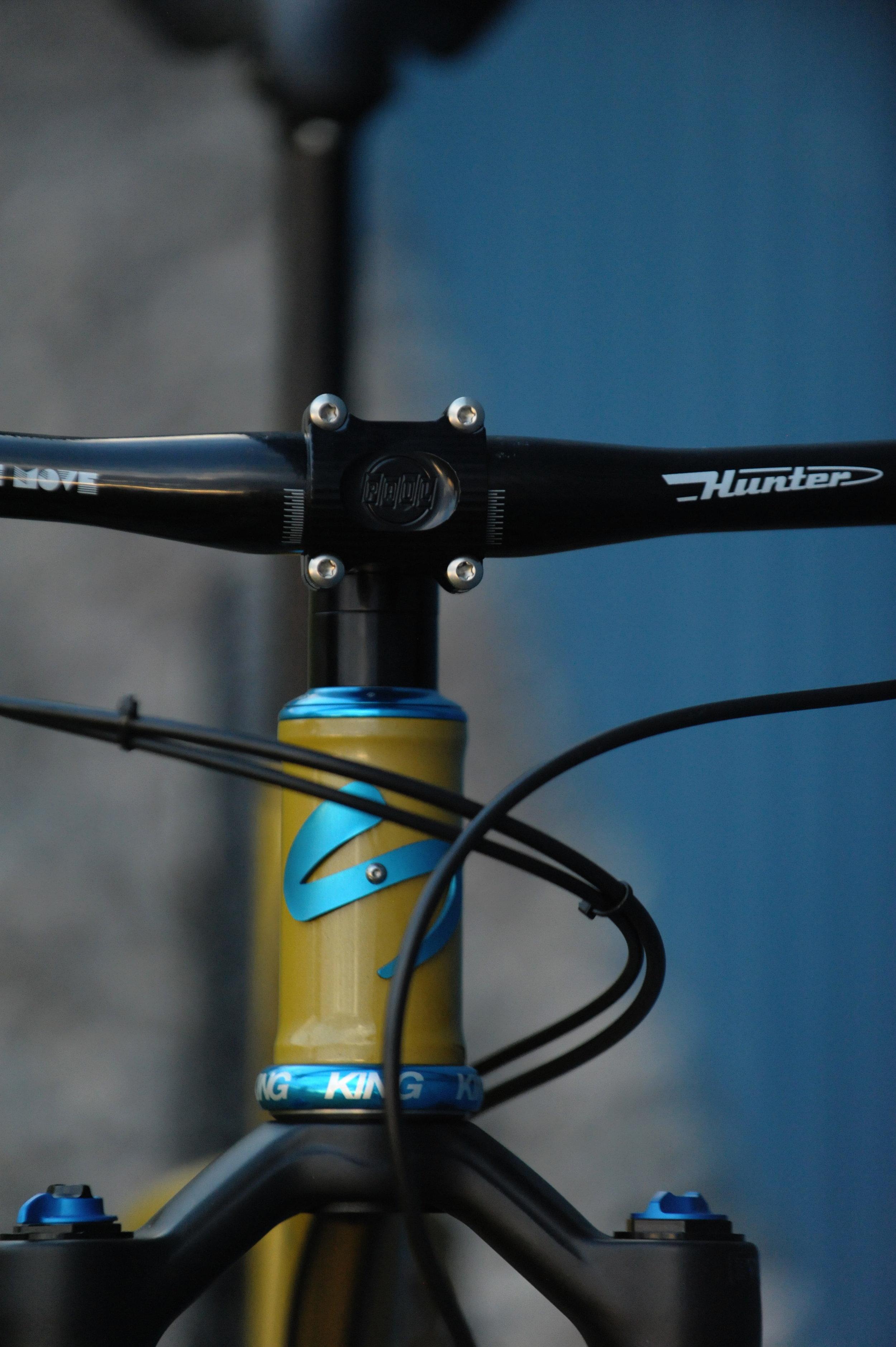Sklar custom steel mountain bike frame