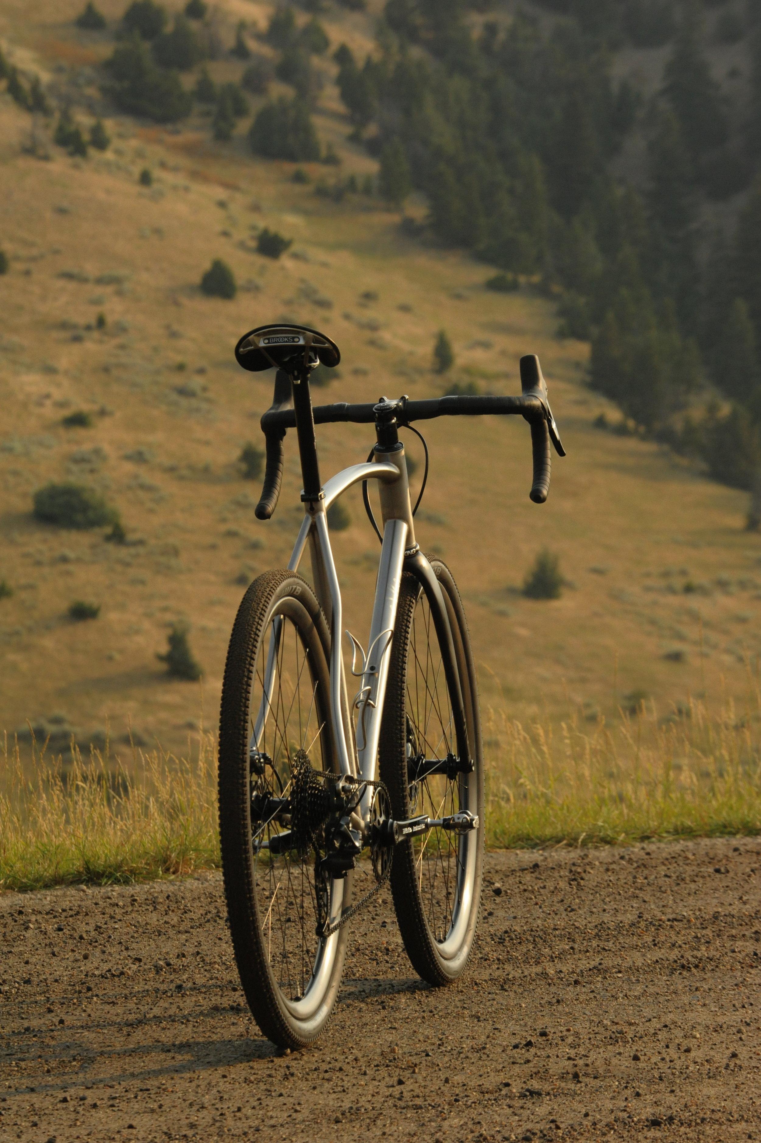 Sklar custom titanium all road gravel bike