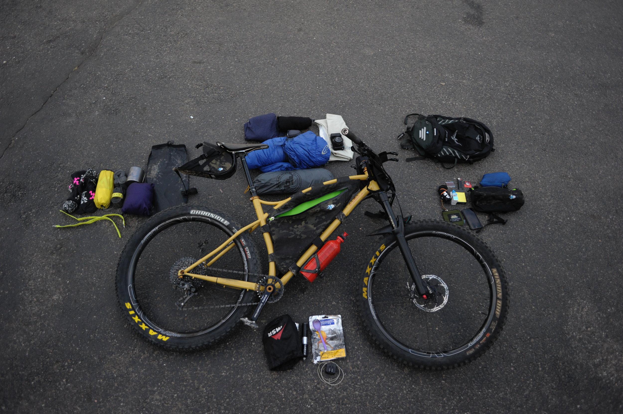 Bikepacking Gear Oregon Timber Trail Sklar Bikes