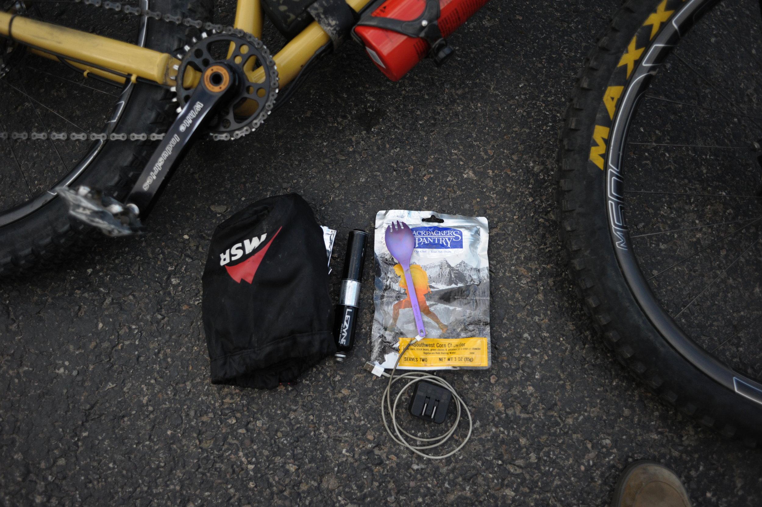 bike packing equipment oregon timber trail