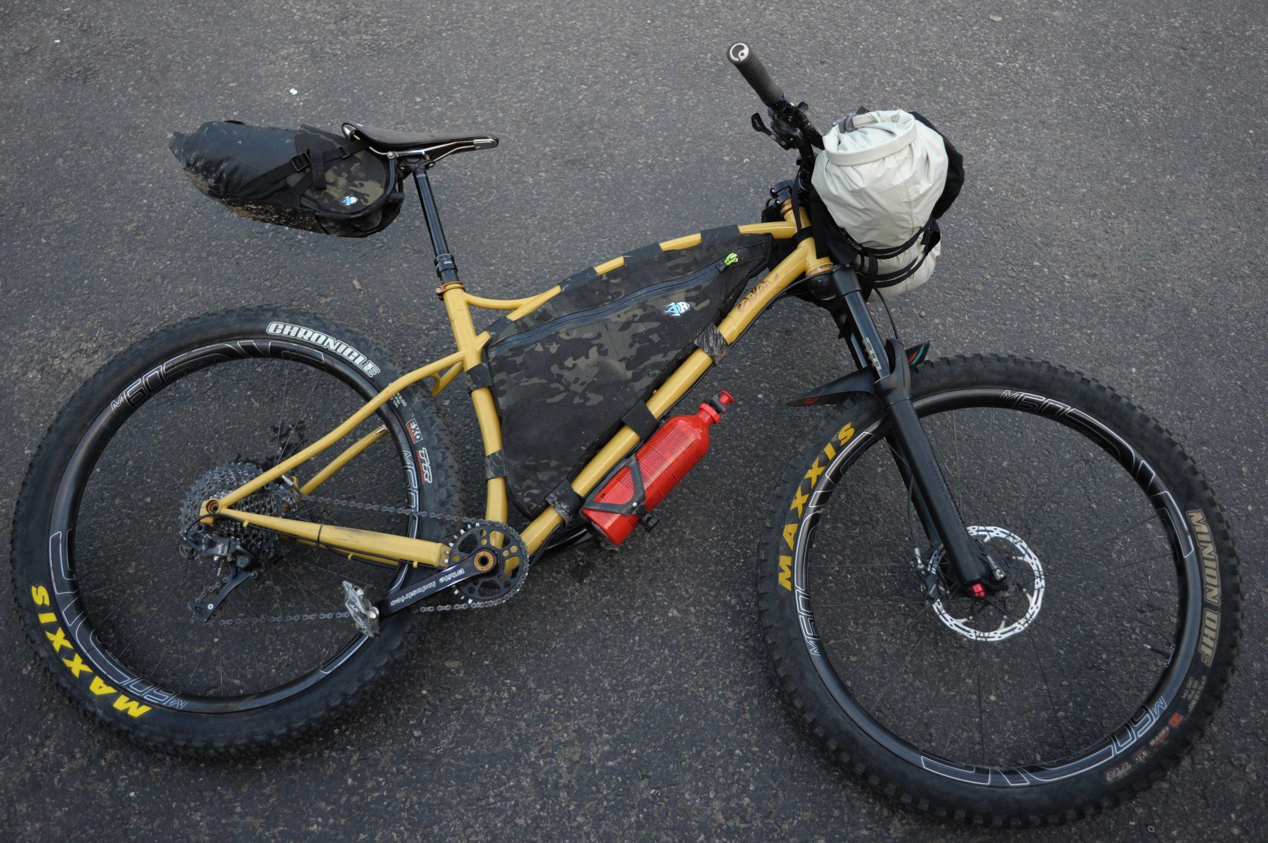 Sklar bikes bikepacking oregon timber trail