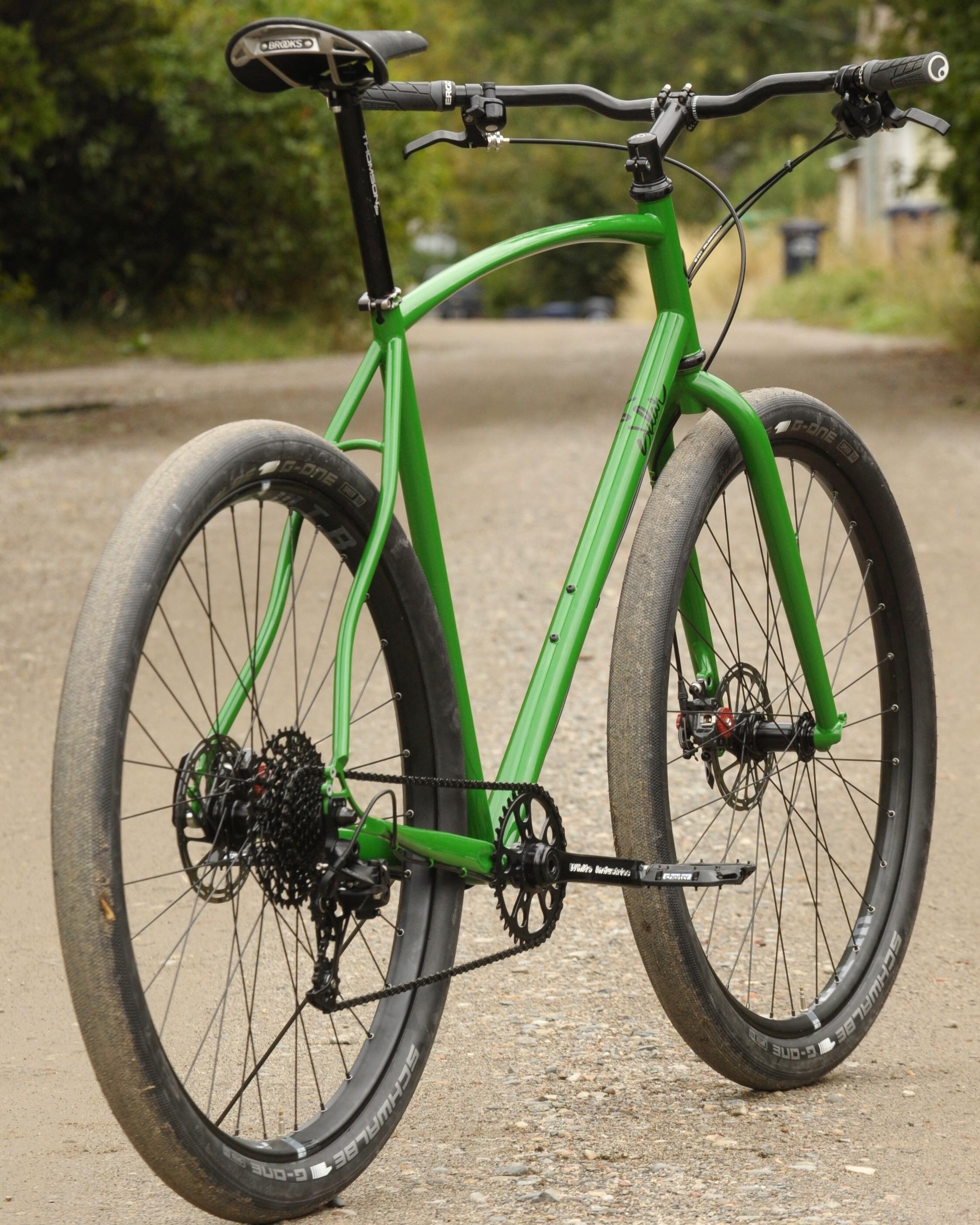 Sklar steel commuter bike custom