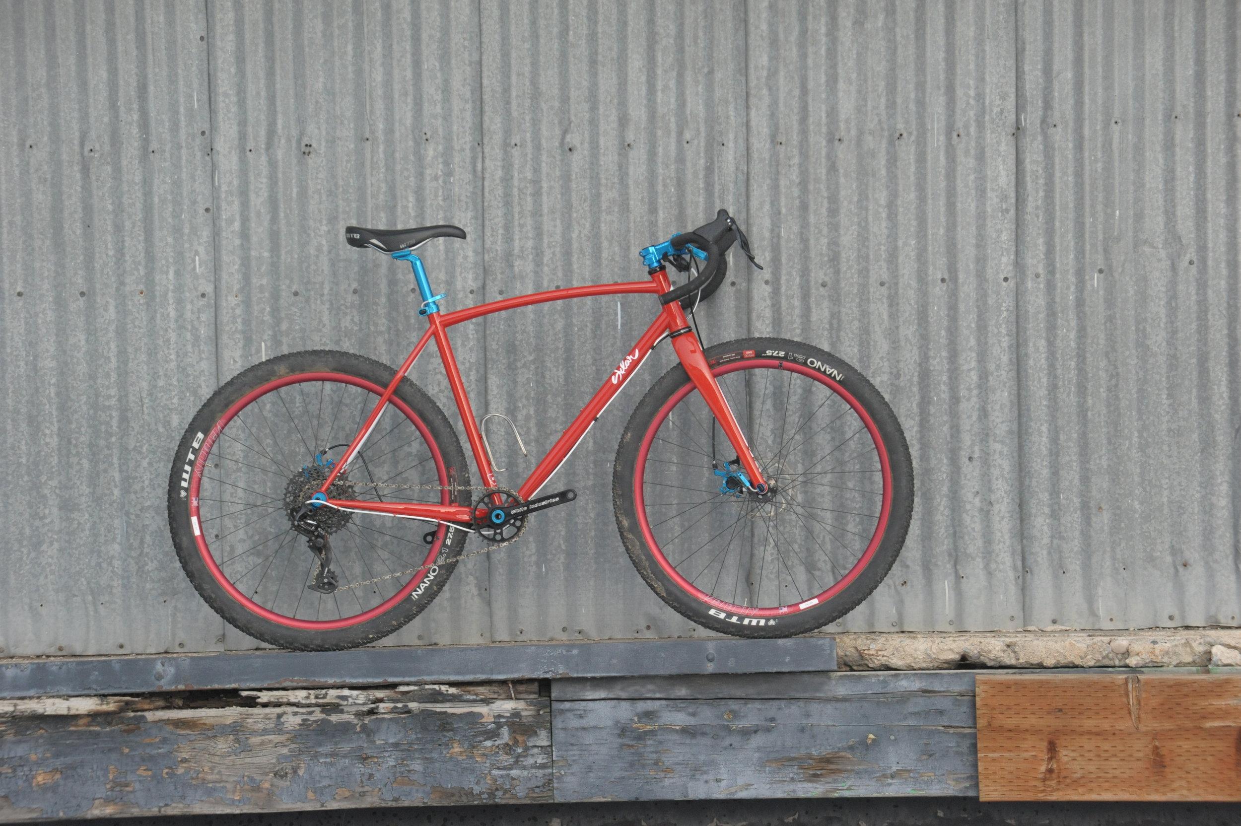 custom framebuilder all road monstercross