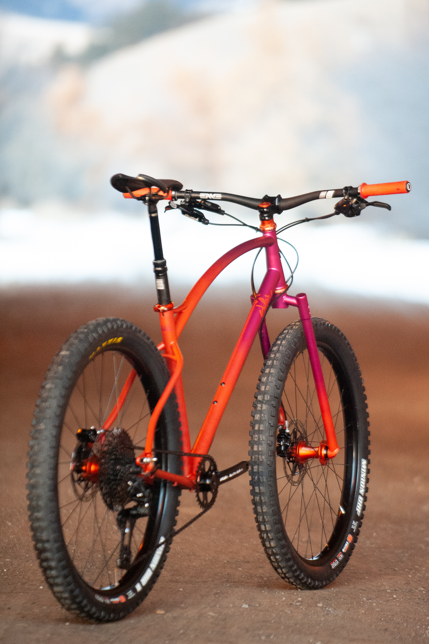 sklar custom steel plus mountain bike