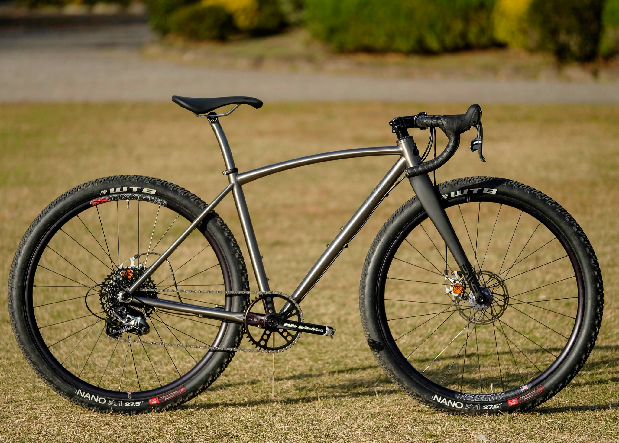 Sklar Titanium monstercross bike