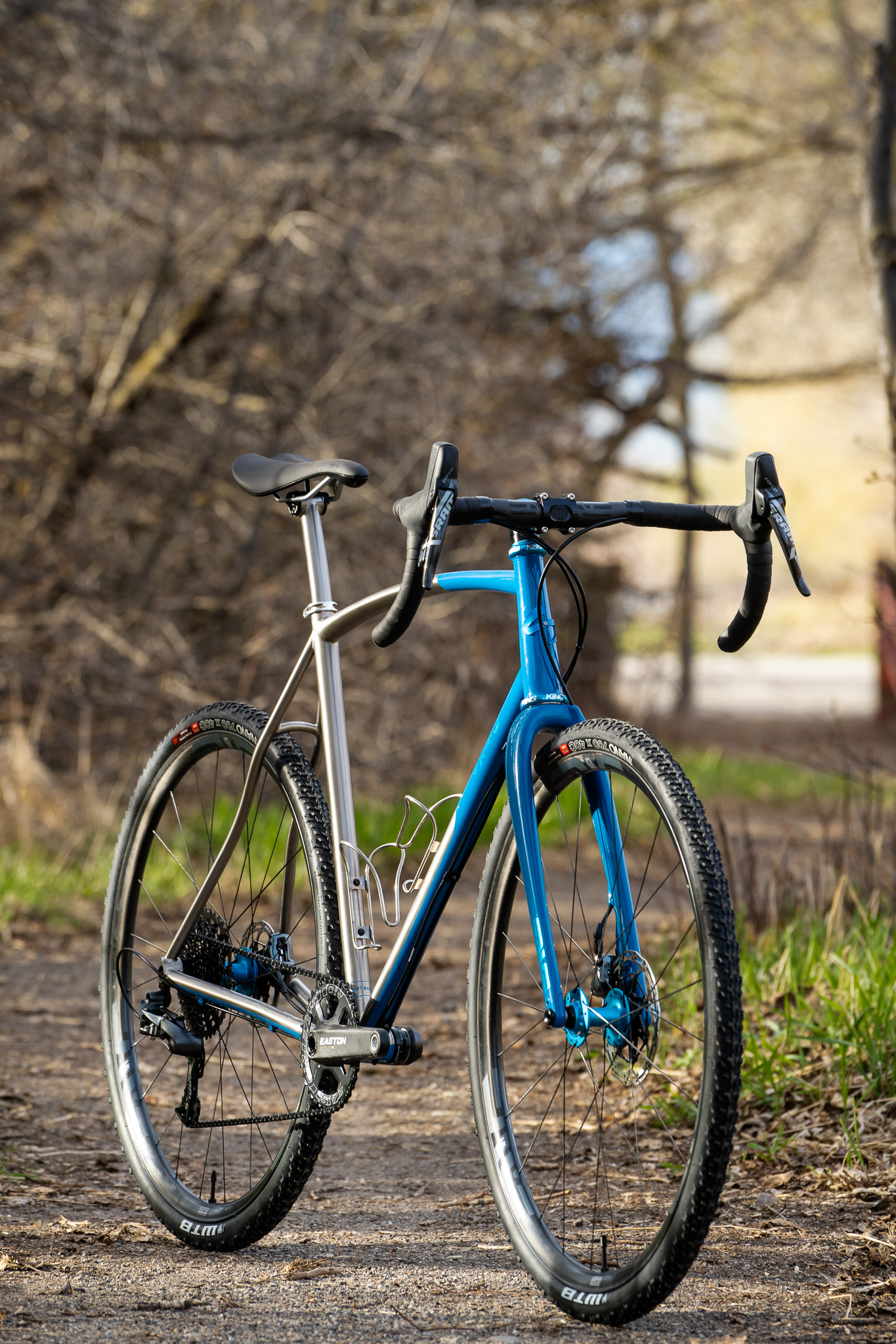 Sklar custom titanium all road gravel bike