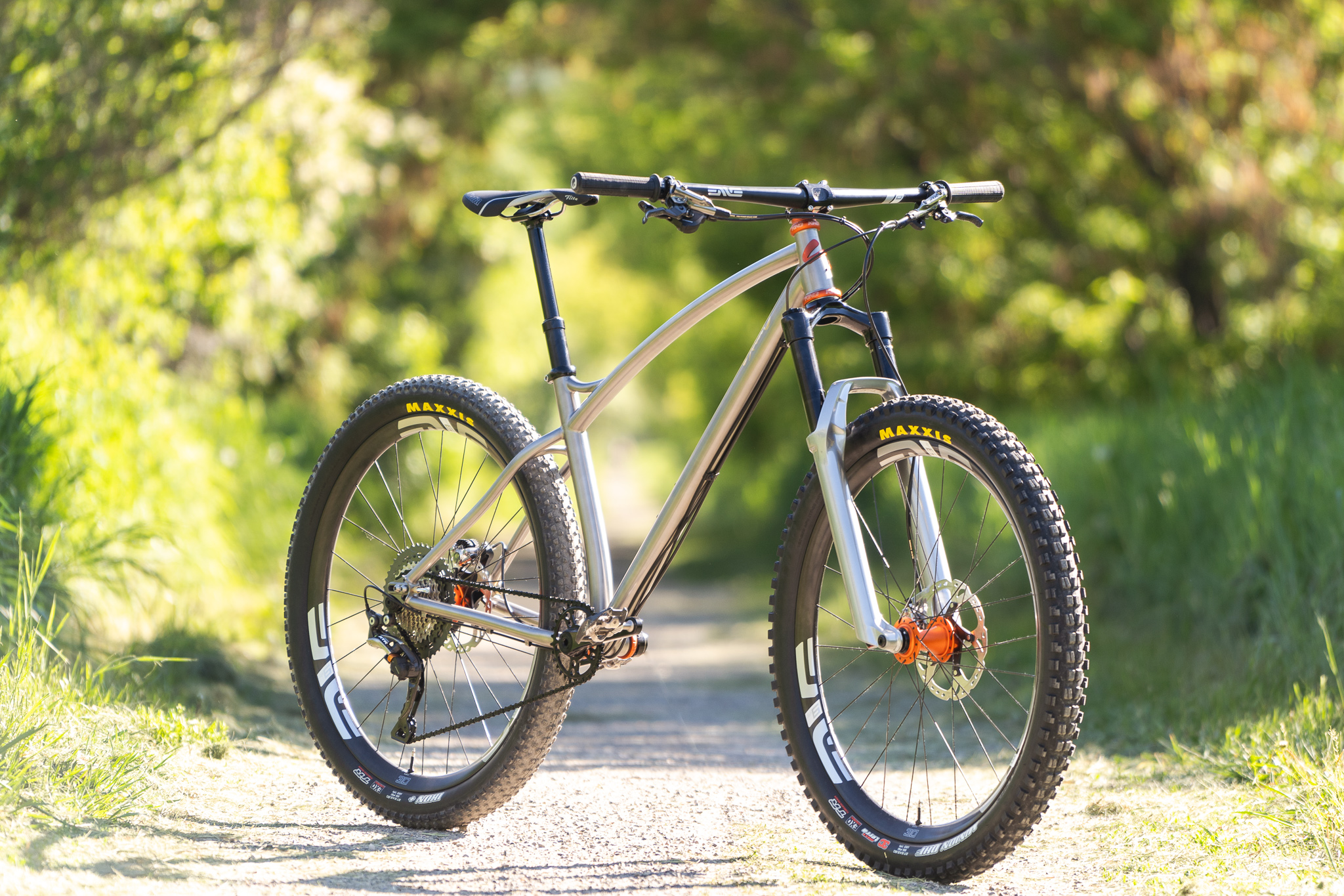 sklar custom titanium mountain bike