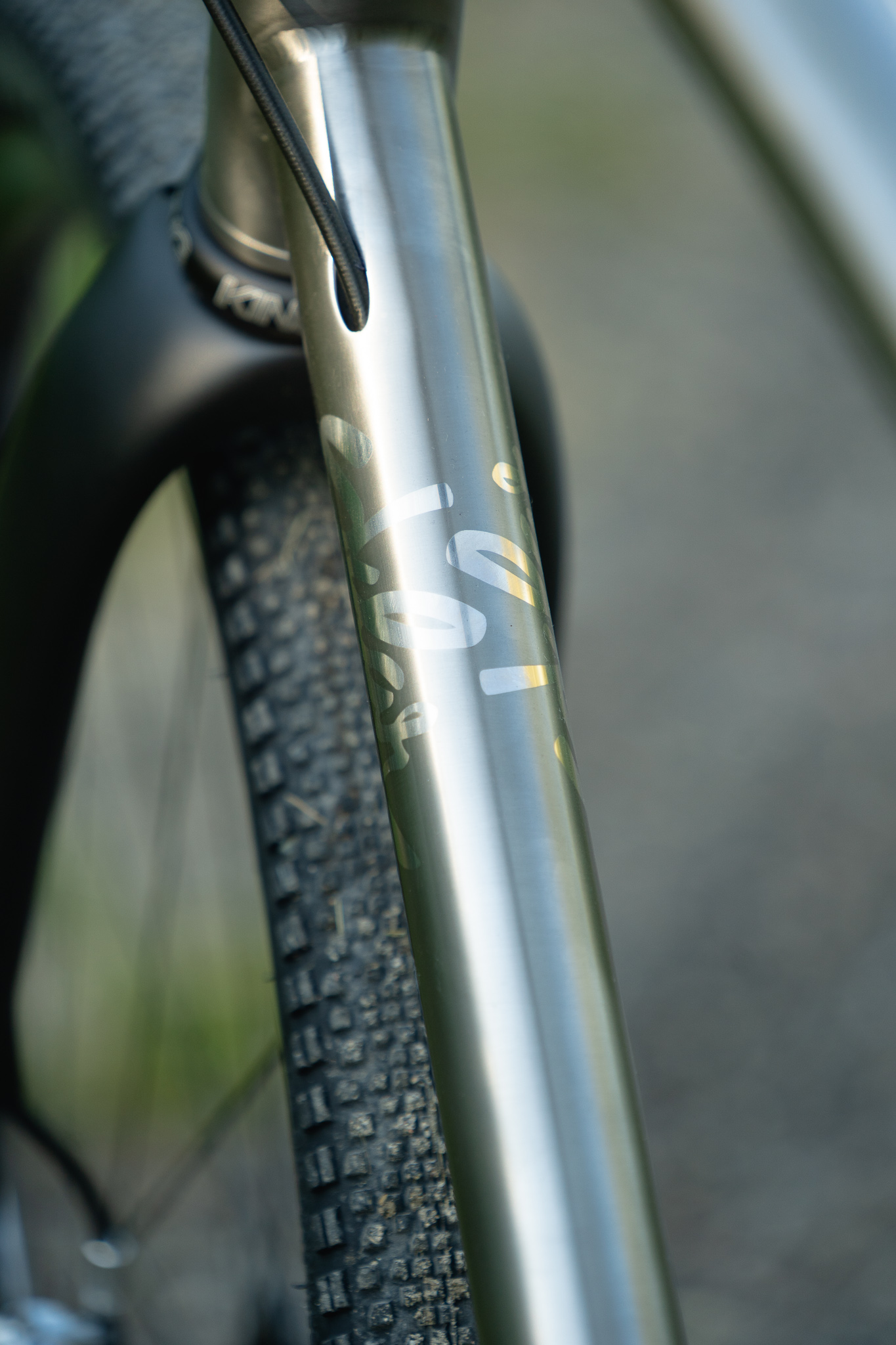 sklar custom titanium all road gravel 1x12
