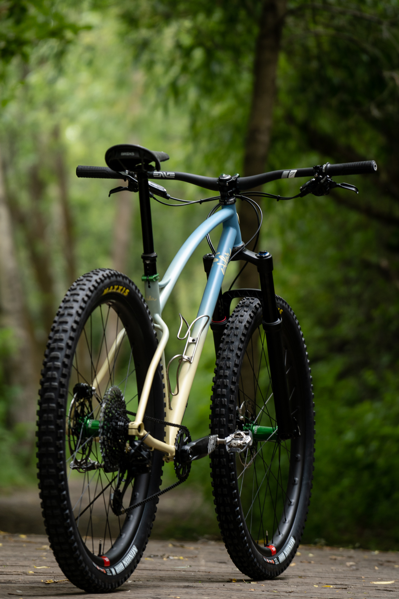 sklar custom steel 29er mountain bike