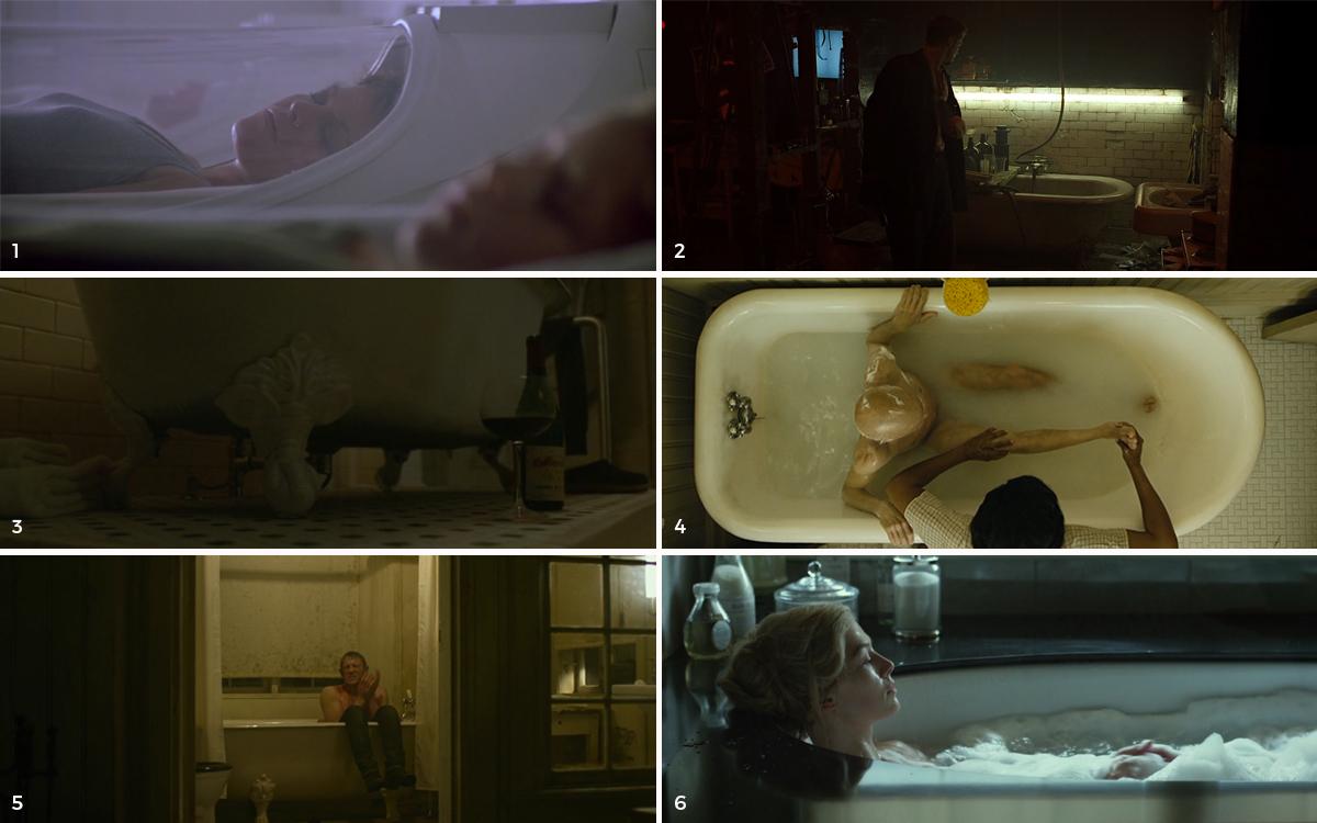 1.   Alien 3 ,  2.   Se7en ,  3.   Panic Room ,  4.   El curioso caso de Benjamin Button ,  5.   Los hombres que no amaban a las mujeres ,  6.   Perdida