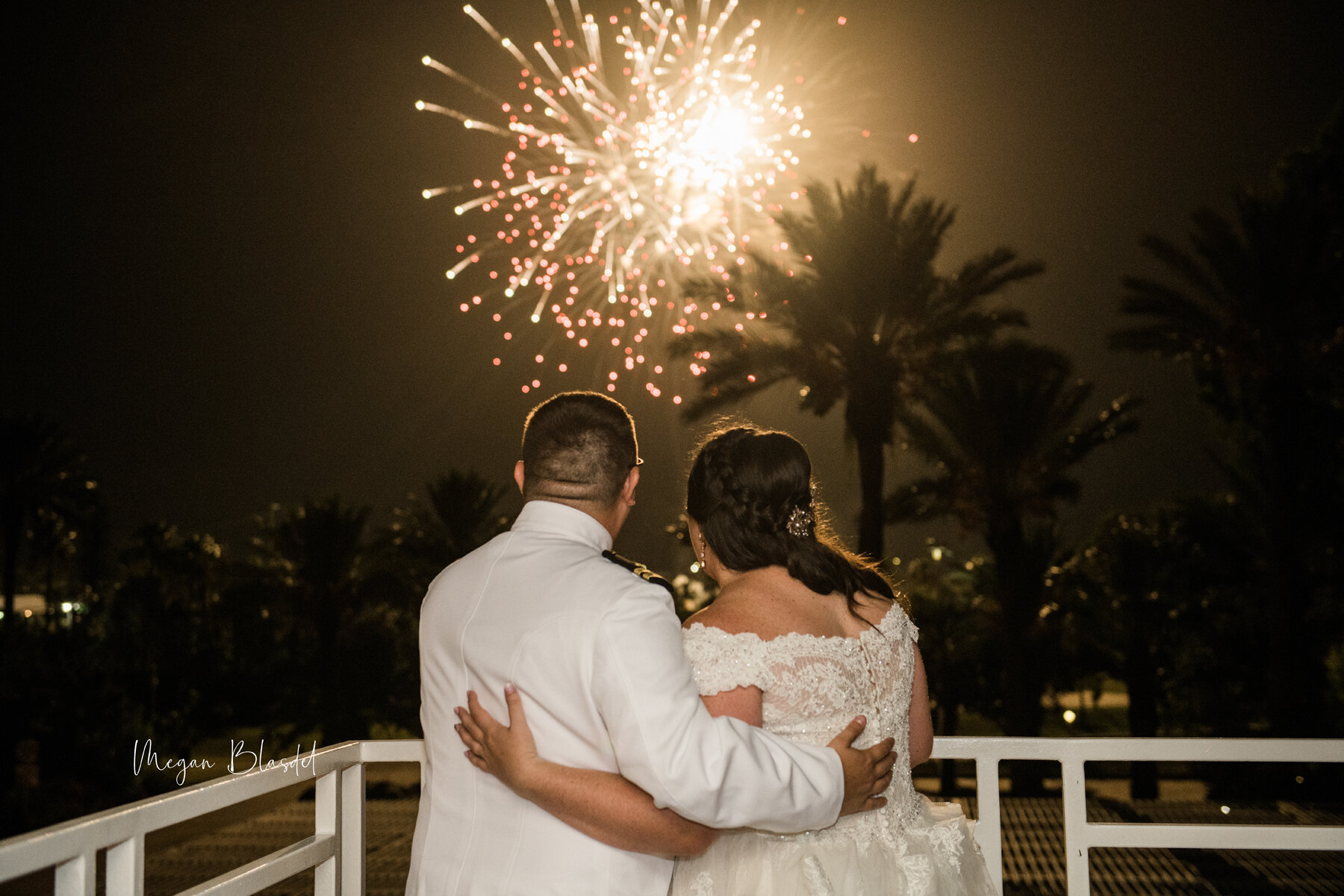 Sparks fly at this magical send-off