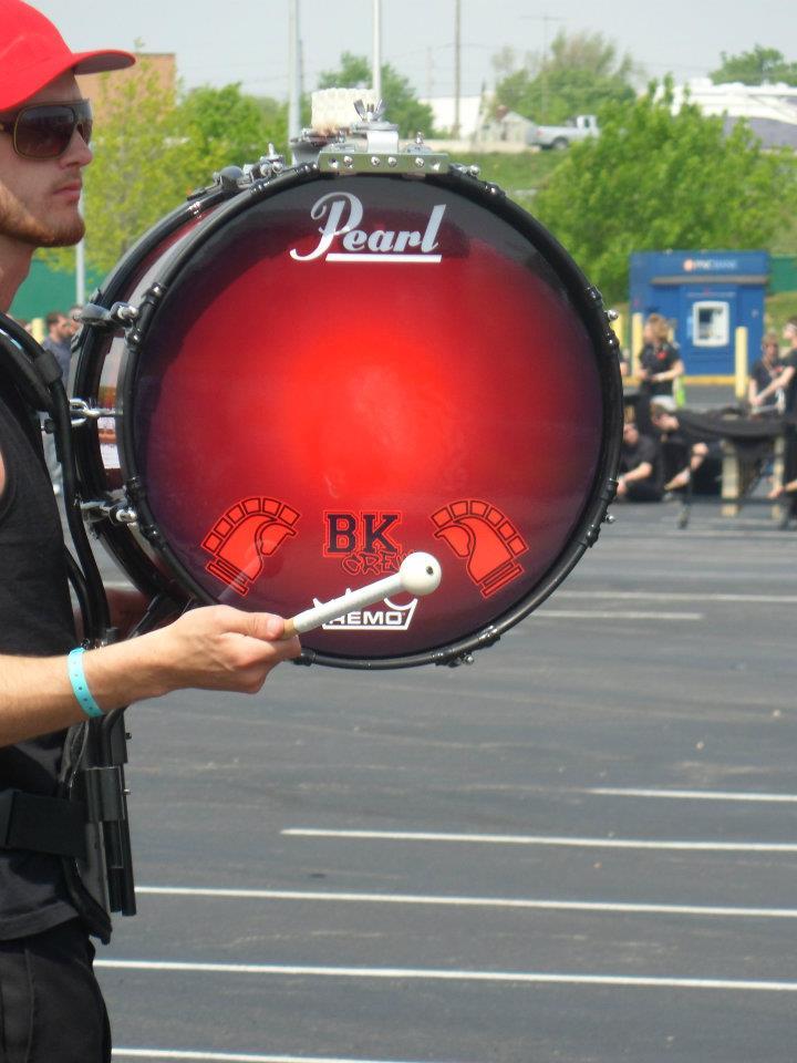 2012 Custom Drumheads. Featuring member Elias Euler