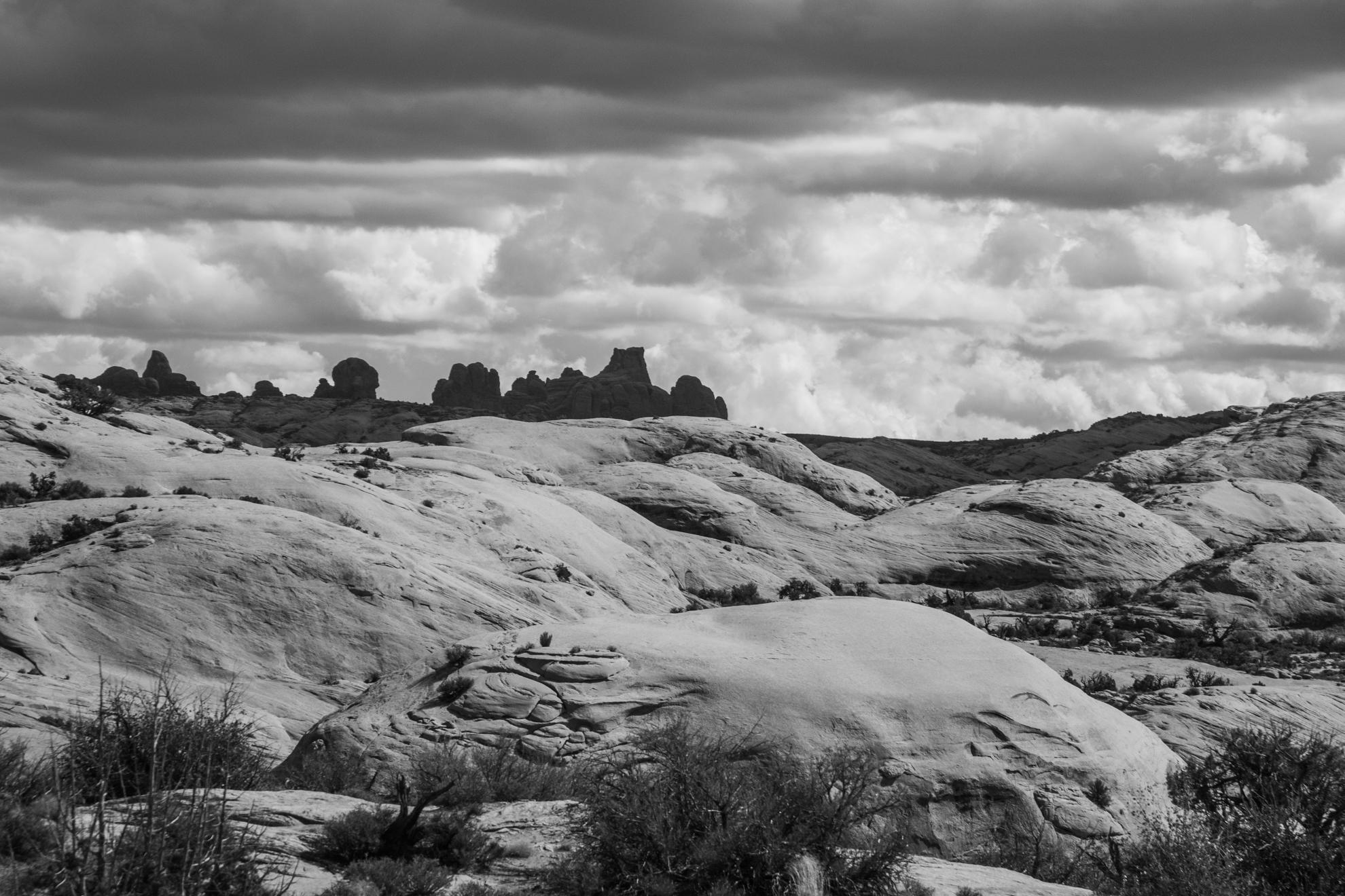 Landscape at Arches National Park