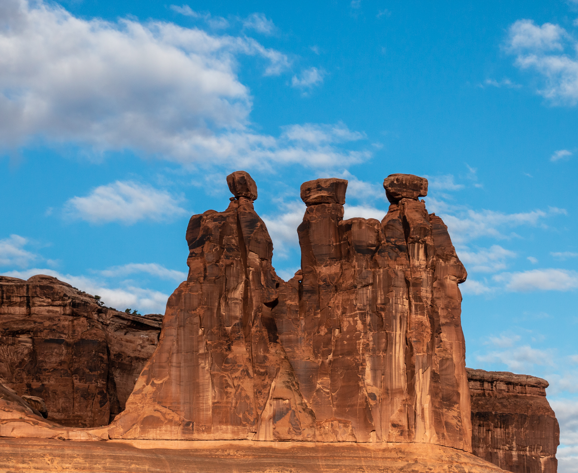 3 Sisters at Arches National Park