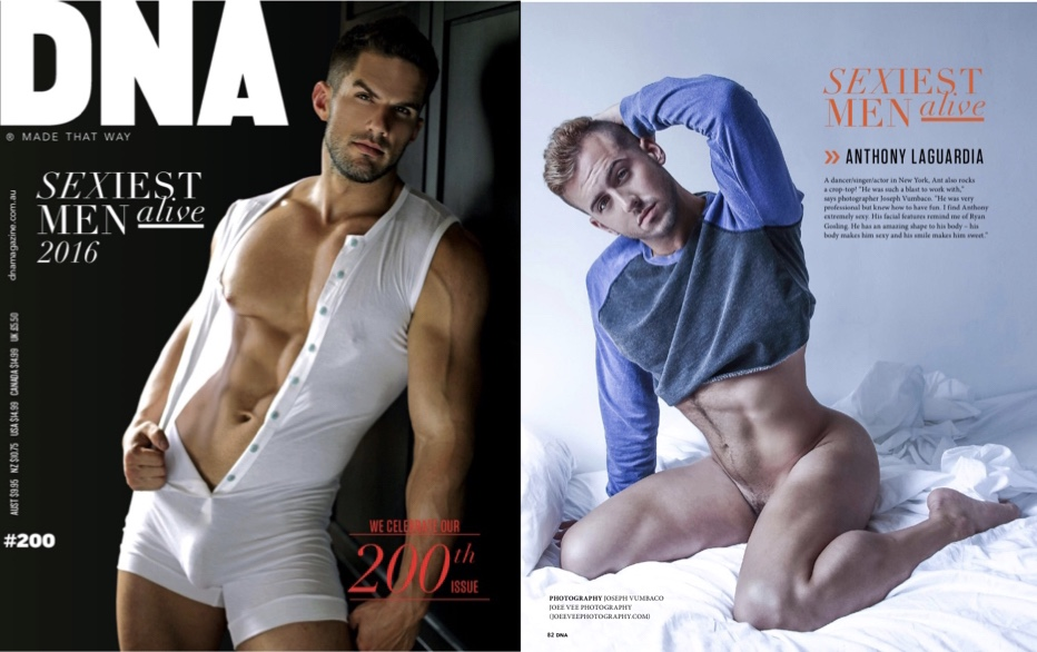 DNA Magazine Issue #200 - 200 Sexiest Men Alive, page 82