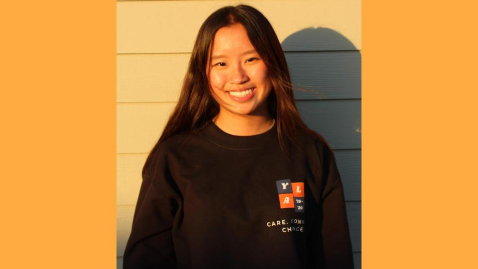 Carrie Cheng, Youth Board Director - Hey everyone! My name is Carrie Cheng, and I am a junior at Sunny Hills High School. My experience in YLA, both as an associate and board member, allowed me to meet new leaders and learn new skill sets, resulting in my strengthened maturity and confidence. I am a passionate artist that's been in the field for about 12 years and a place in my heart goes out to Japanese food. I am a softie for sushi and matcha green tea. :)