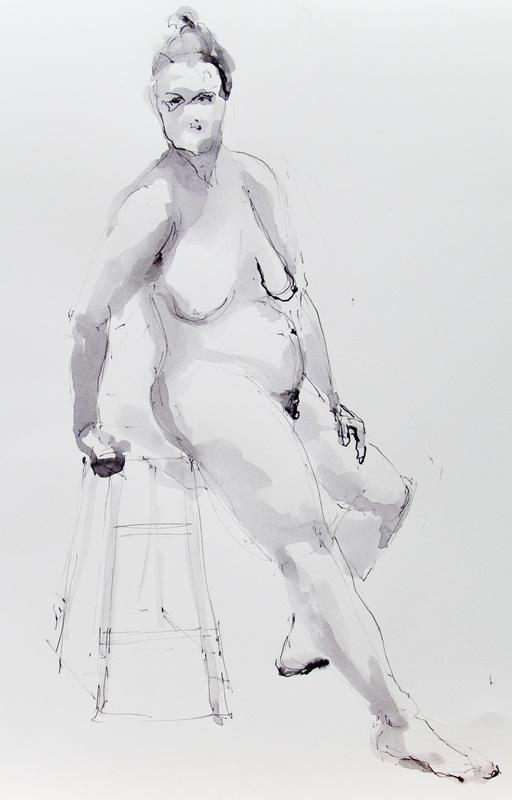 """""""Nude on a Stool II"""""""