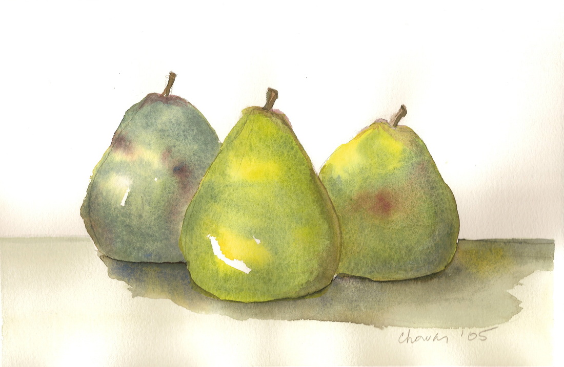 """Green Pears"""