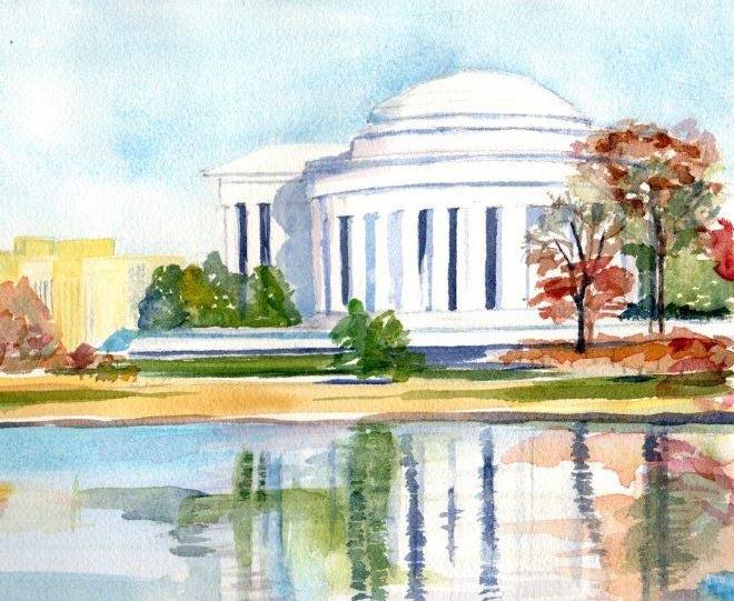 Jefferson Memorial, (c) 2011