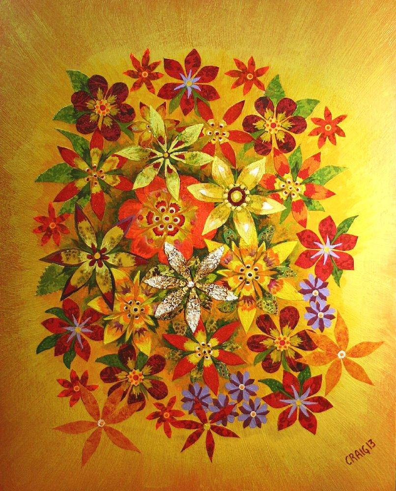 """""""Floral Fabric"""" by Bob Craig"""