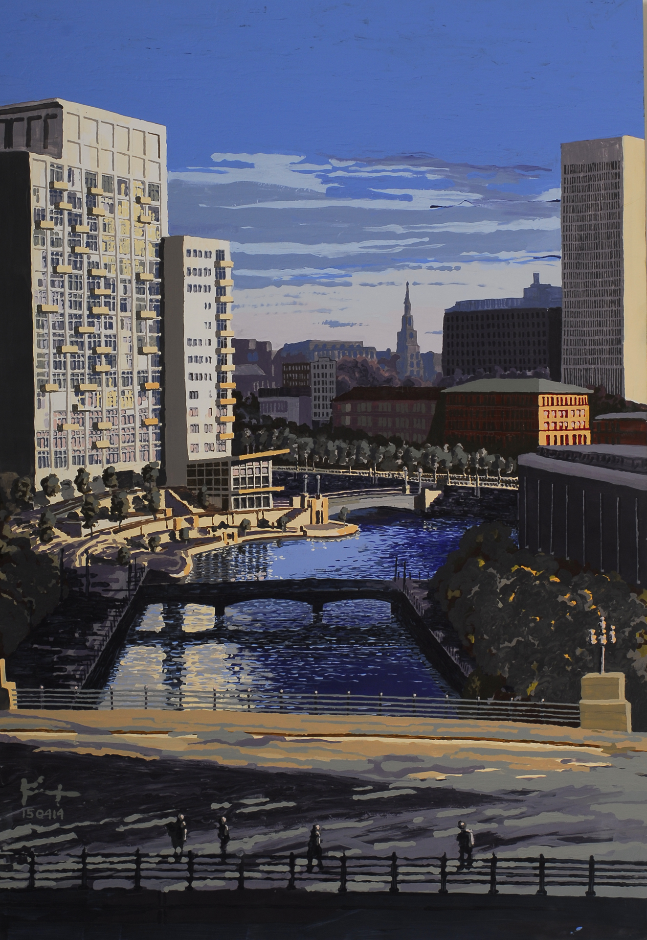 """Kent Eaton for """"Providence Place"""""""