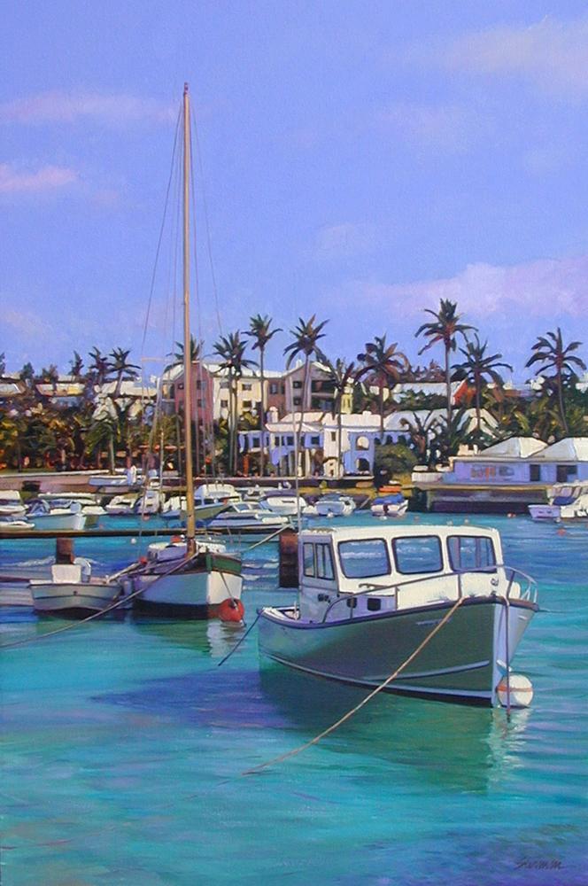 """Colors of Bermuda""by Tom Swimm"