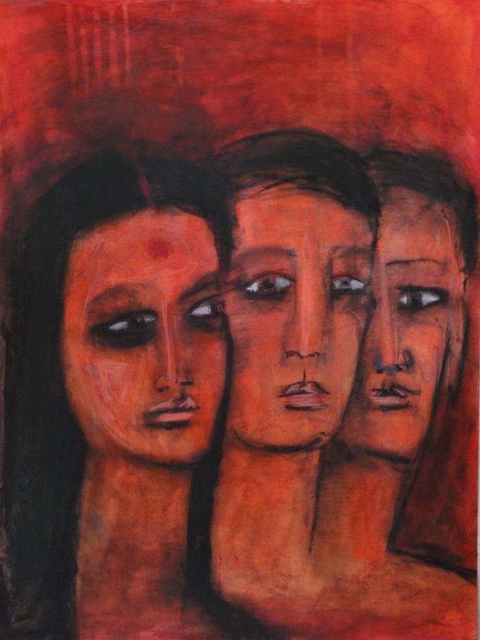 """Trimurti"" by Suzanee Benton"