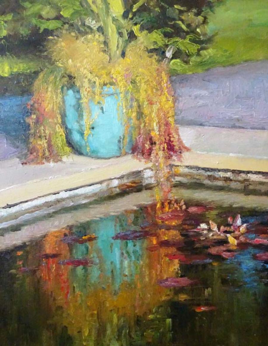 """Hidden Oasis"" by Leisa Luis-Grill"