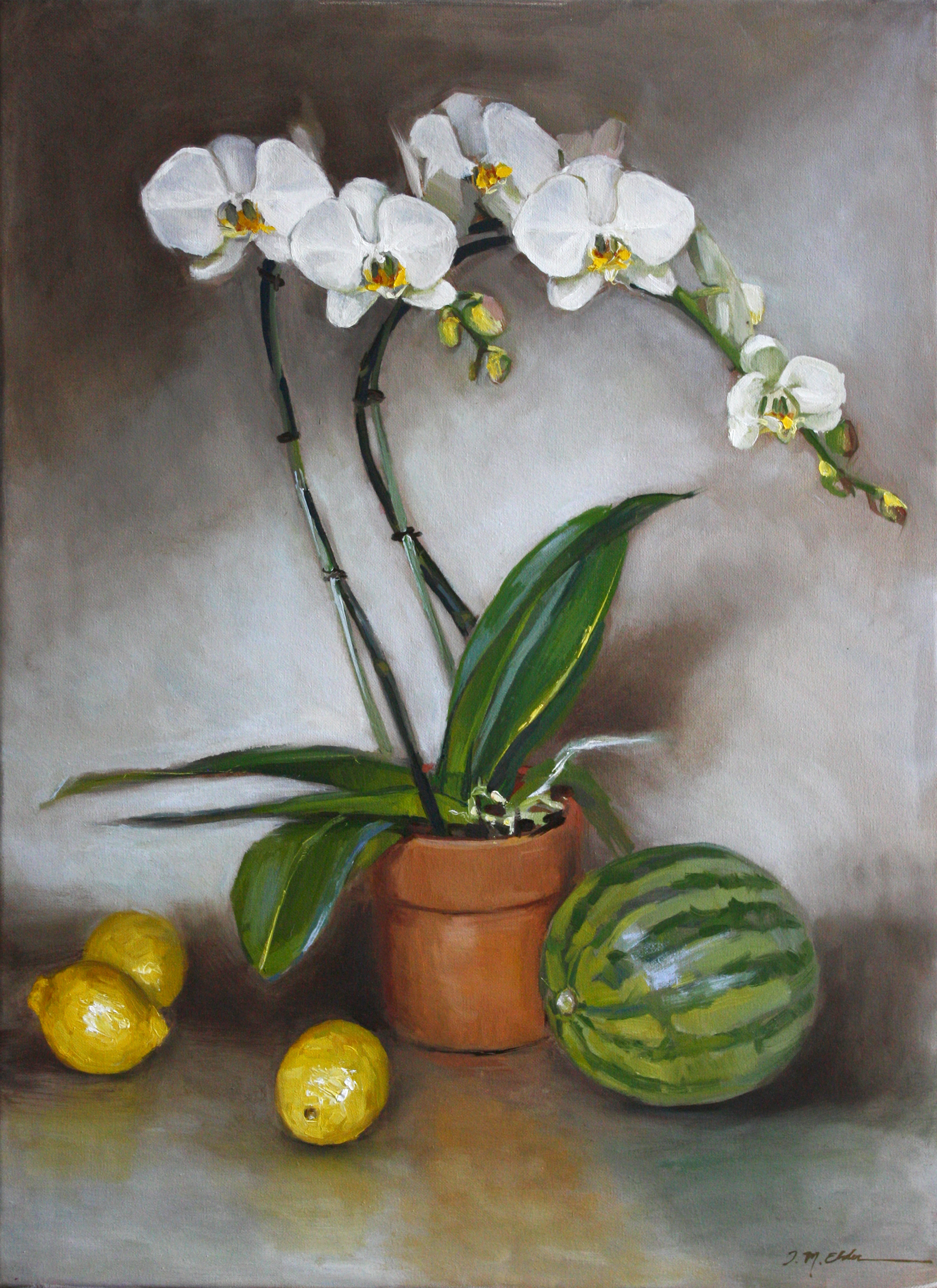 """Jenay Elder for """"Orchids and Fruit"""""""