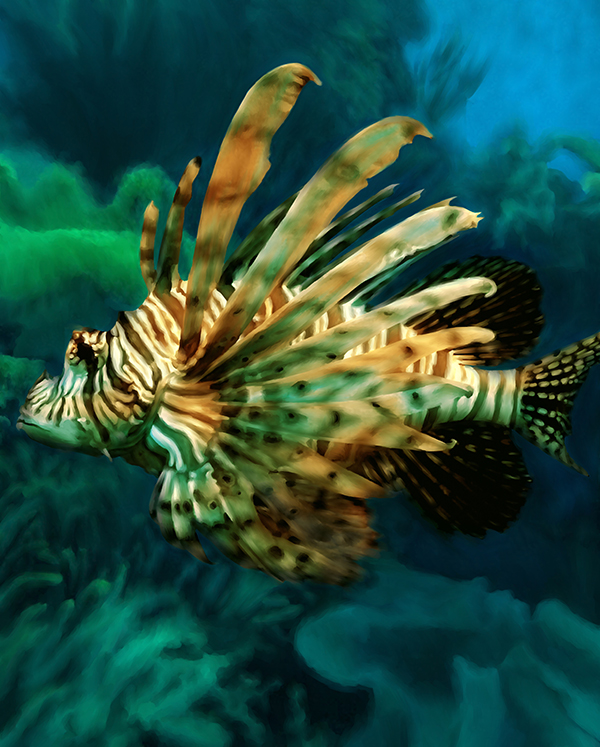 Lion Fish by Sherrie Spencer