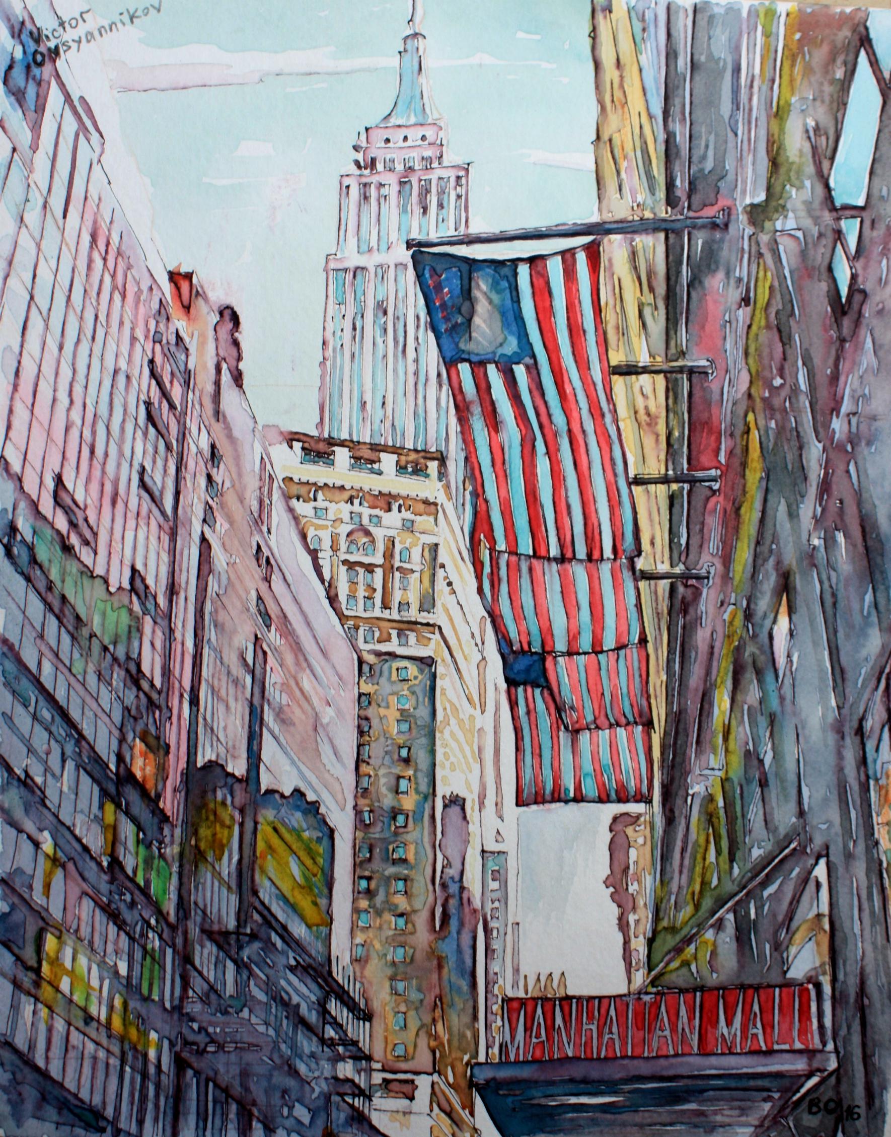 Manhattan by Victor Ovsyannikov