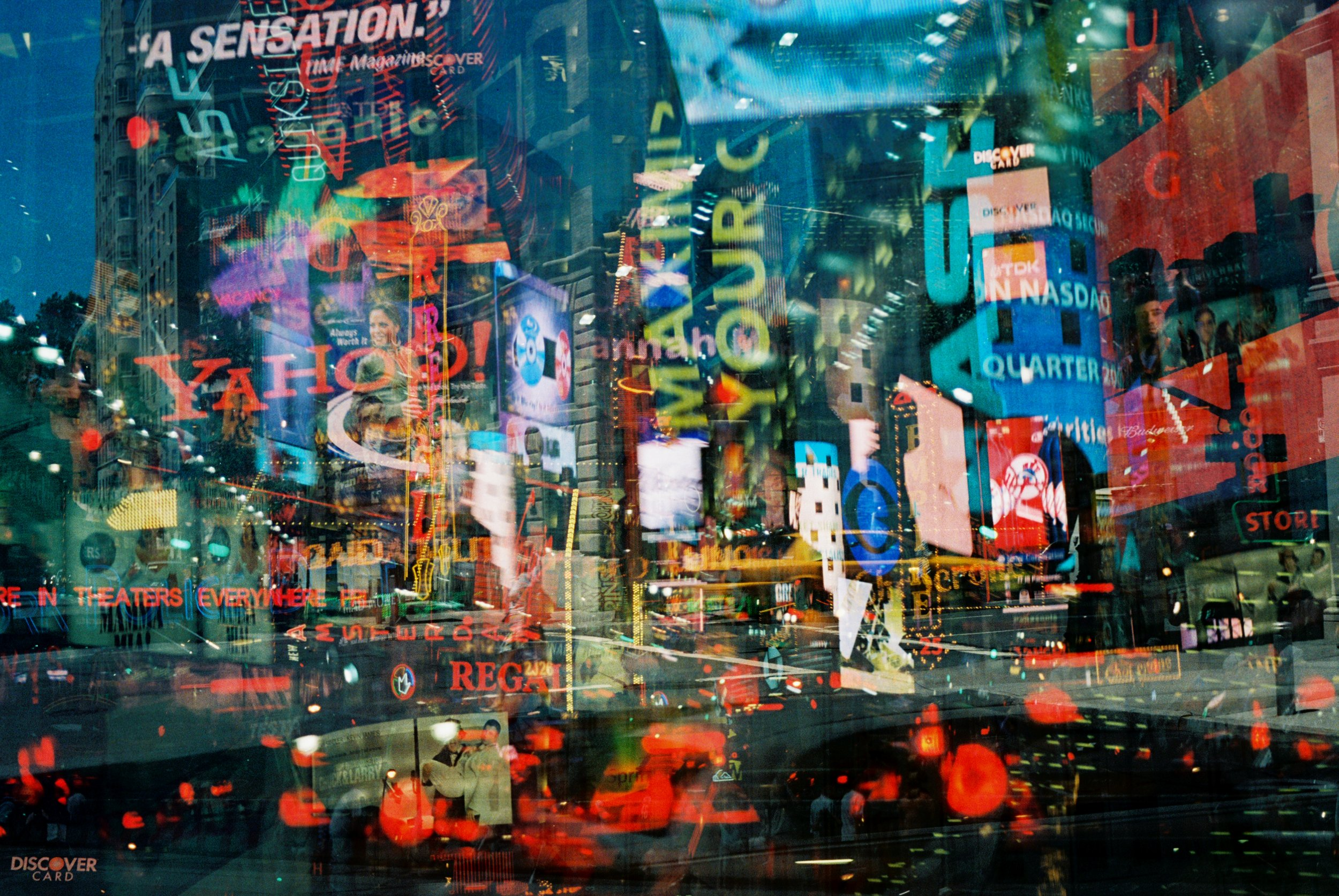 Manhattan with Johnny by Holly Harrah