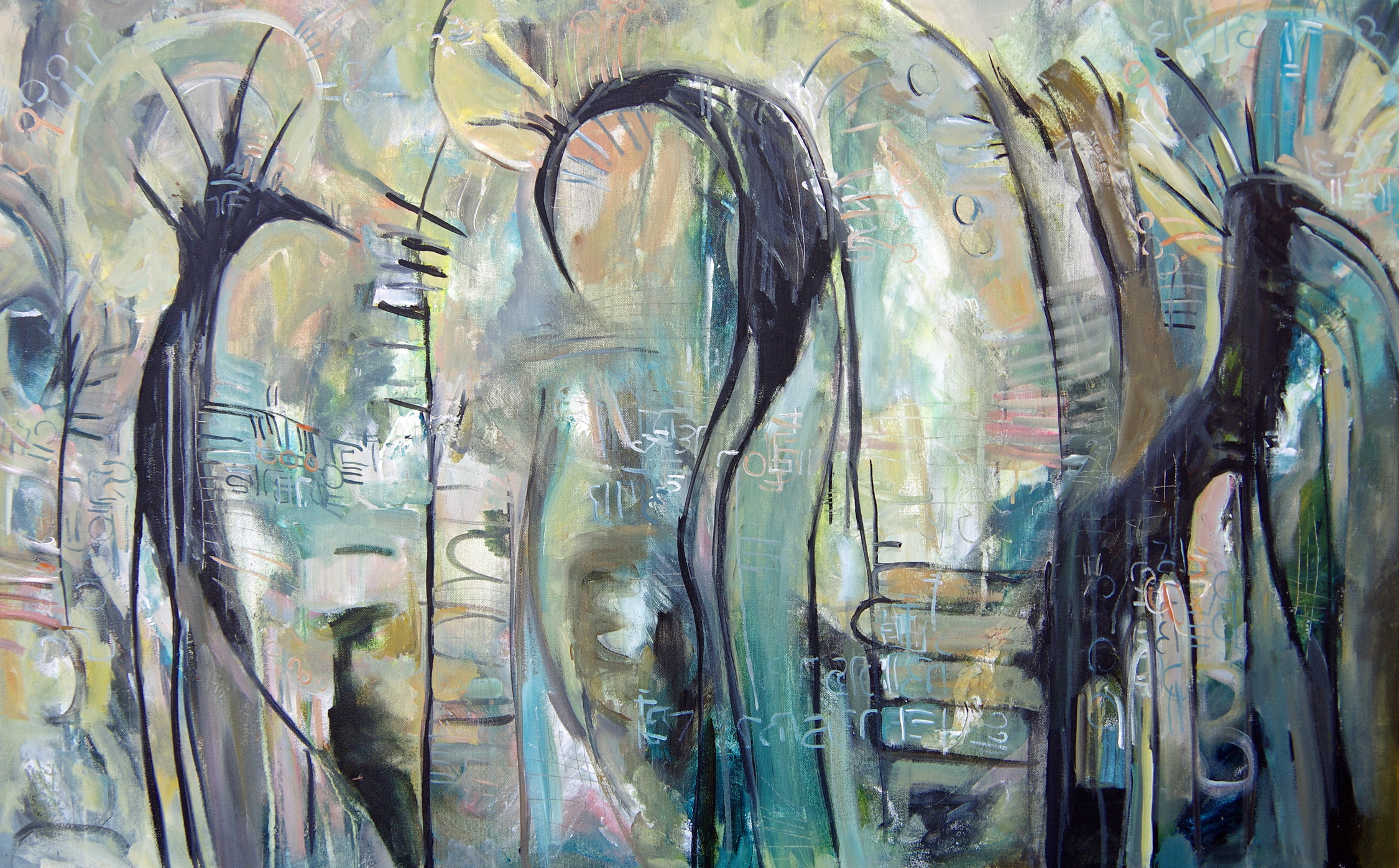 """Birdmen"" by Michelle Johnson Fairchild"