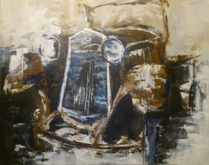 """""""Debut for an Old Ford"""" by Tara Kelly"""