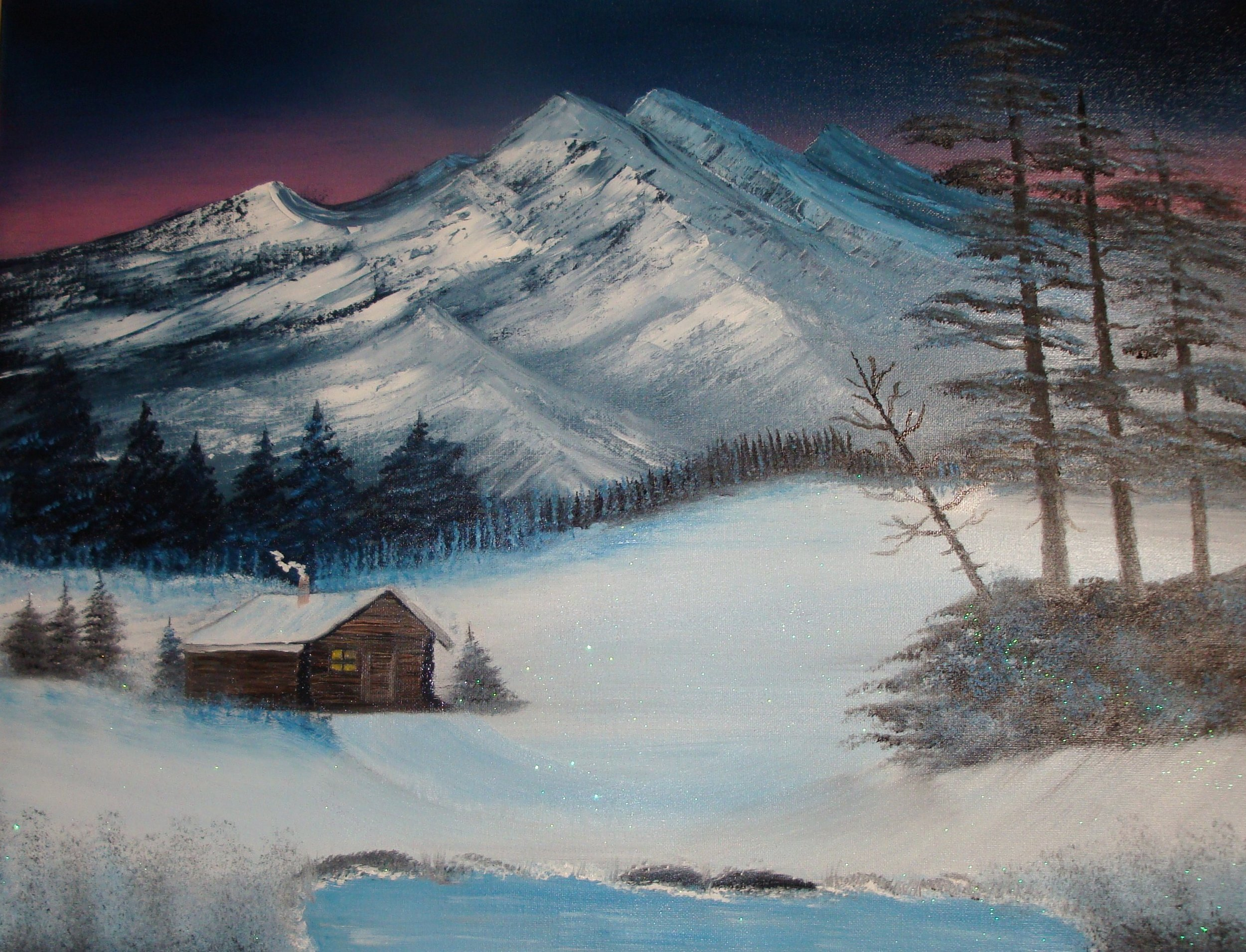 """""""Home in My Cabin"""" by Lana Fultz"""