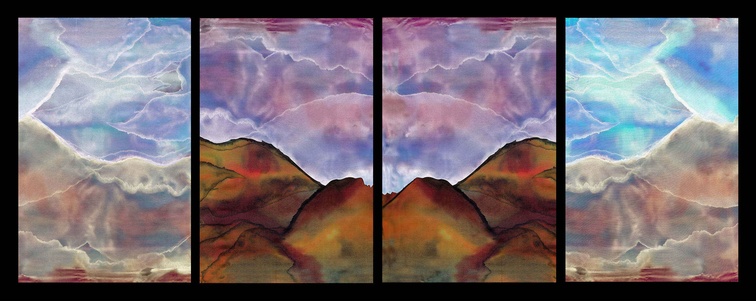 """""""Mountains"""" by Jane Silver"""