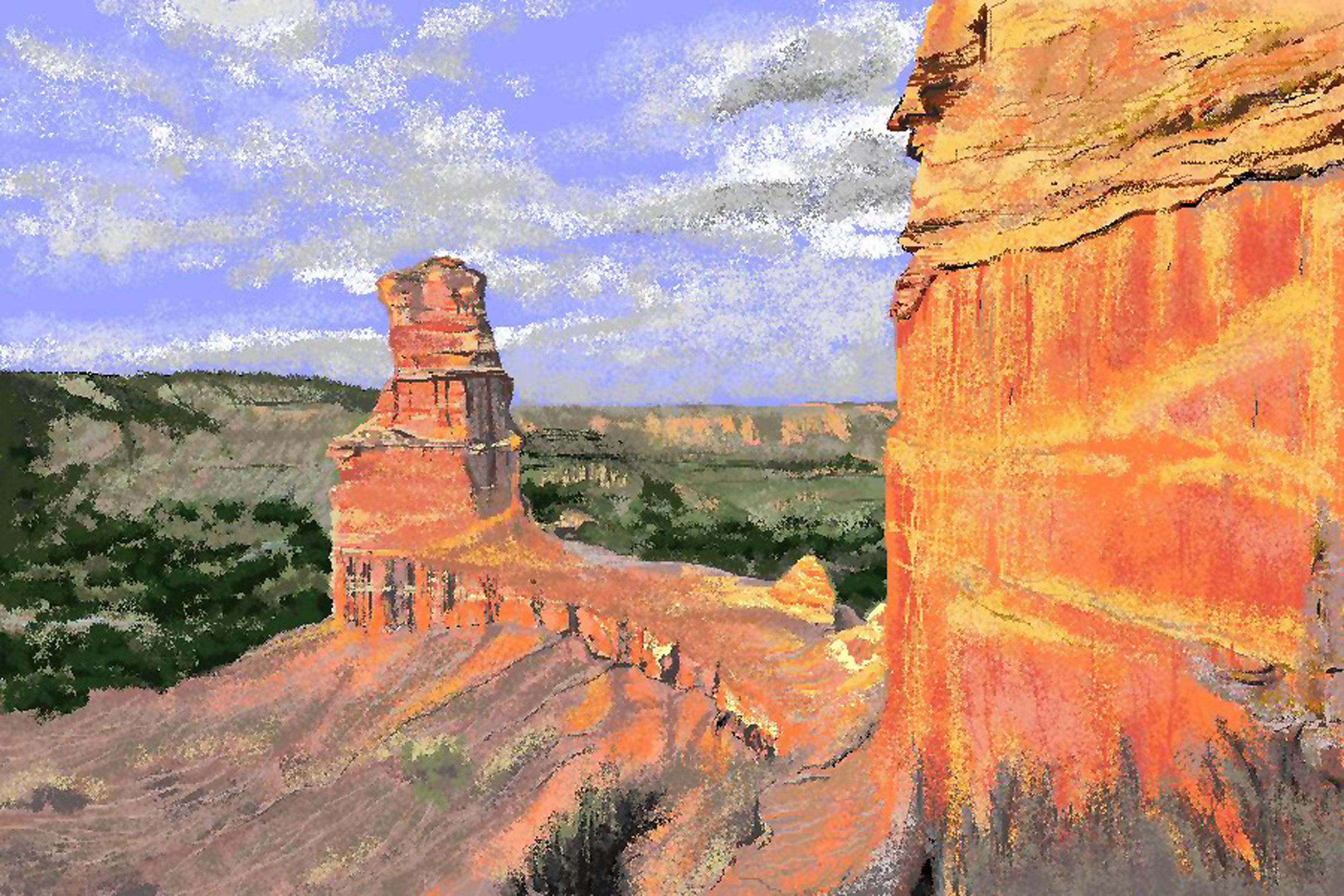 "Carole Boyd for ""Palo Duro Canyon"""