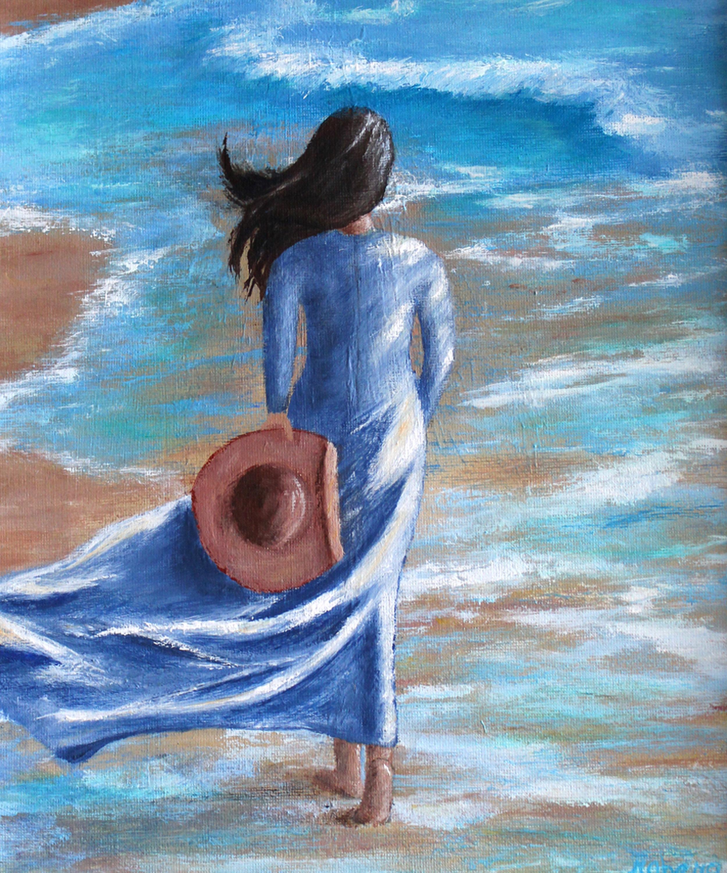 20496922-Berg, Beach Blues, Acrylic on Canvas,  6-20-2015, $150 .jpg